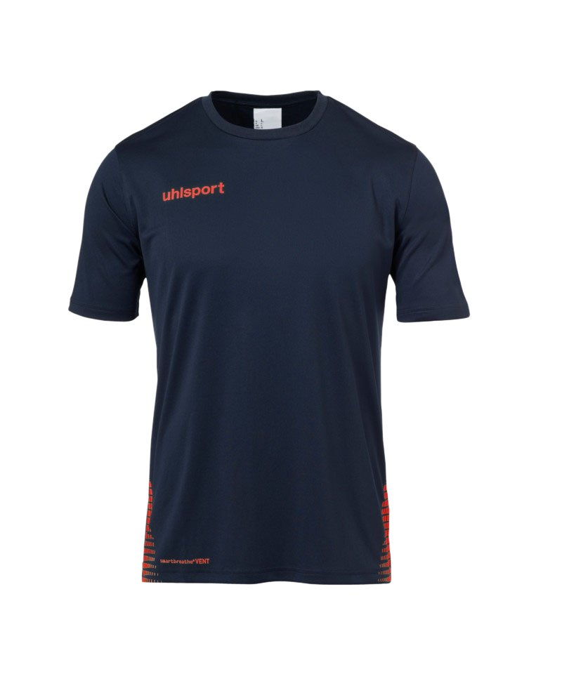Uhlsport Score Training T-Shirt Blau Orange F10 - blau