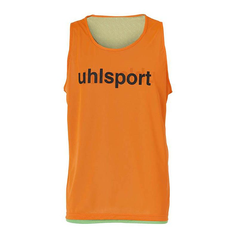 Uhlsport Wende-Markierungshemd Orange Grün F02 - orange