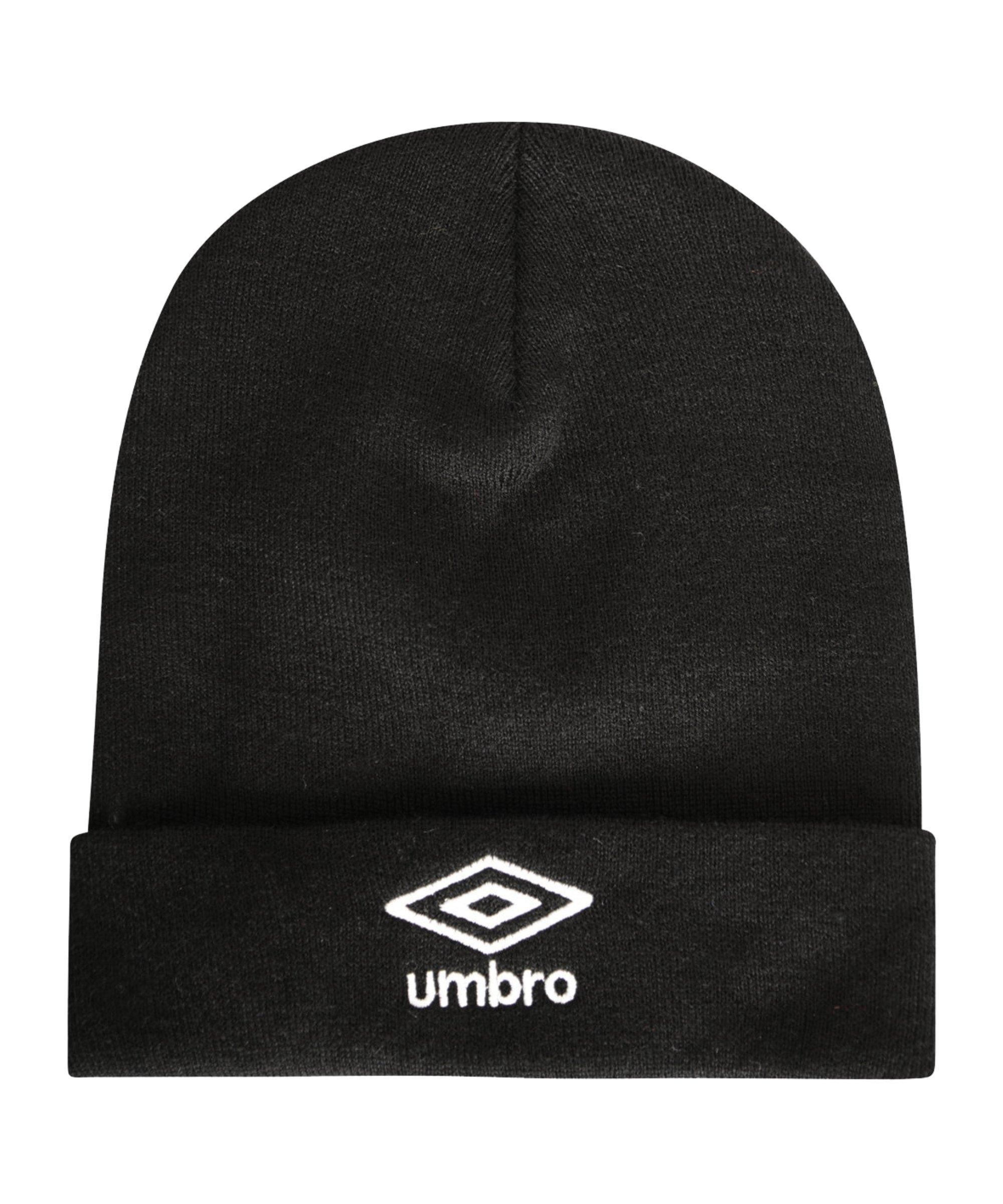 Umbro Ski Mütze Schwarz F090 - schwarz