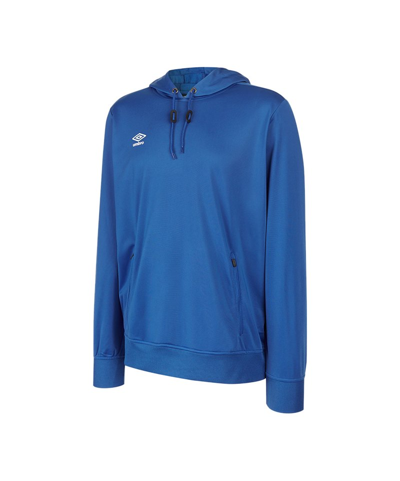 Umbro Club Essential Poly Hoody Kids Blau FEH2 - blau