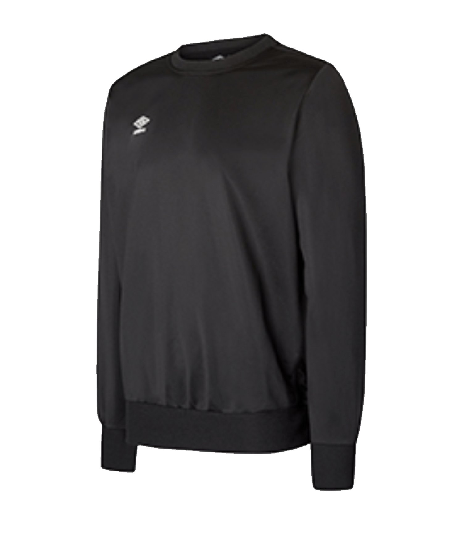 Umbro Club Essential Poly Sweatshirt Kids F060 - Schwarz