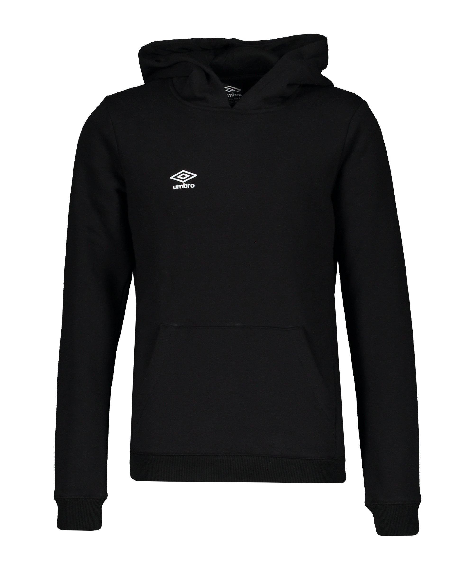 Umbro Club Leisure Kapuzensweatshirt K F090 - schwarz