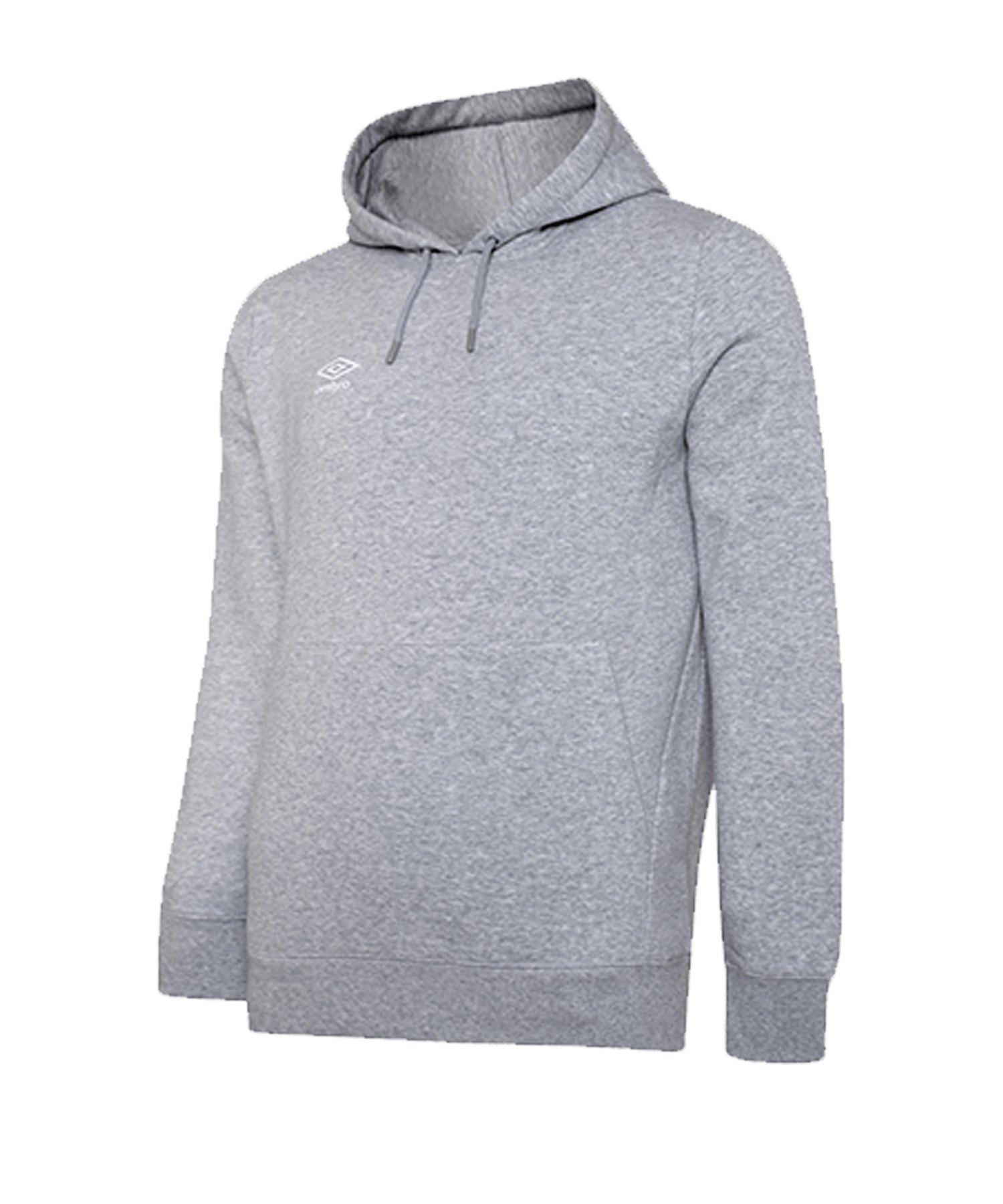 Umbro Club Leisure Kapuzensweatshirt K FP12 - grau