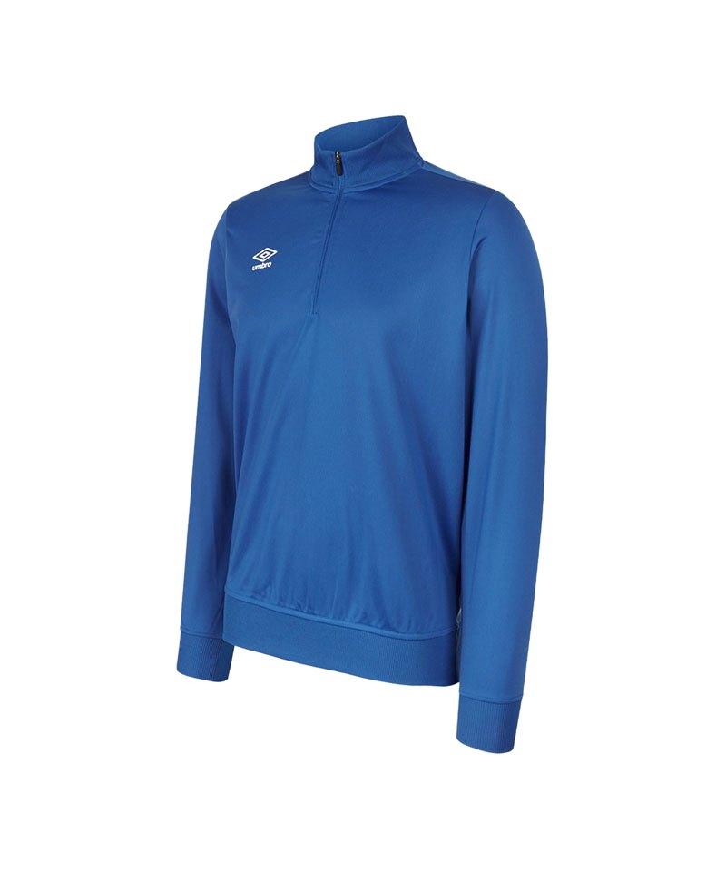 Umbro Club Essential 1/2 Zip Sweater Blau FEH2 - blau