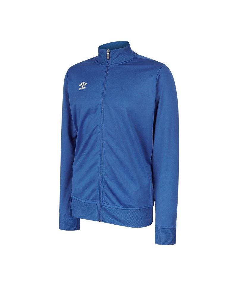 Umbro Club Essential Poly Jacke Blau FEH2 - blau