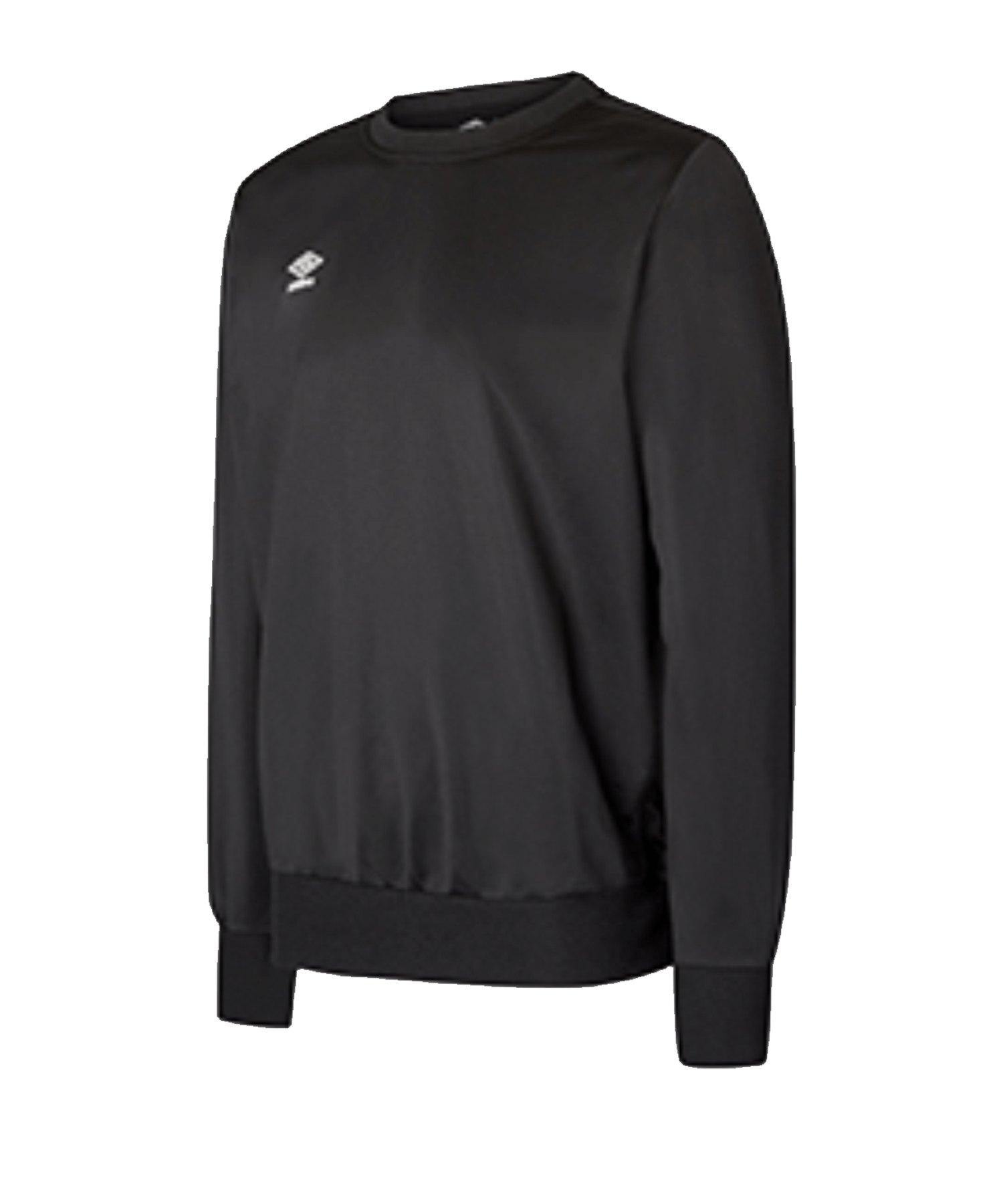 Umbro Club Essential Poly Sweatshirt Schwarz F060 - Schwarz