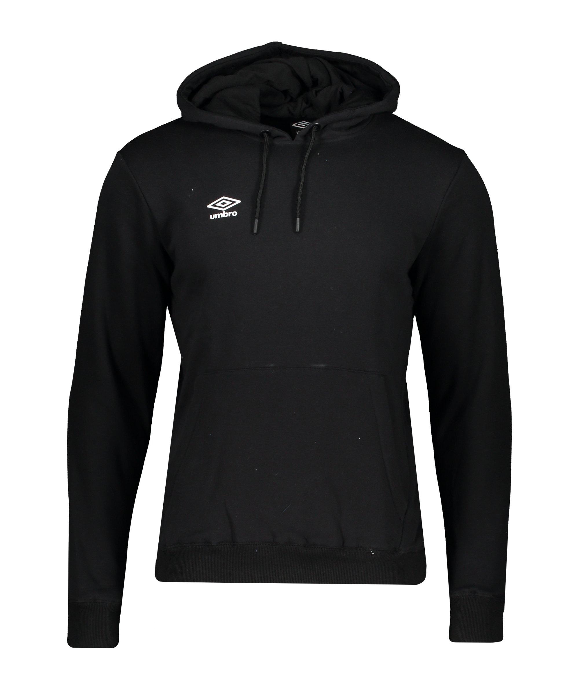 Umbro Club Leisure OH Kapuzensweatshirt F090 - schwarz