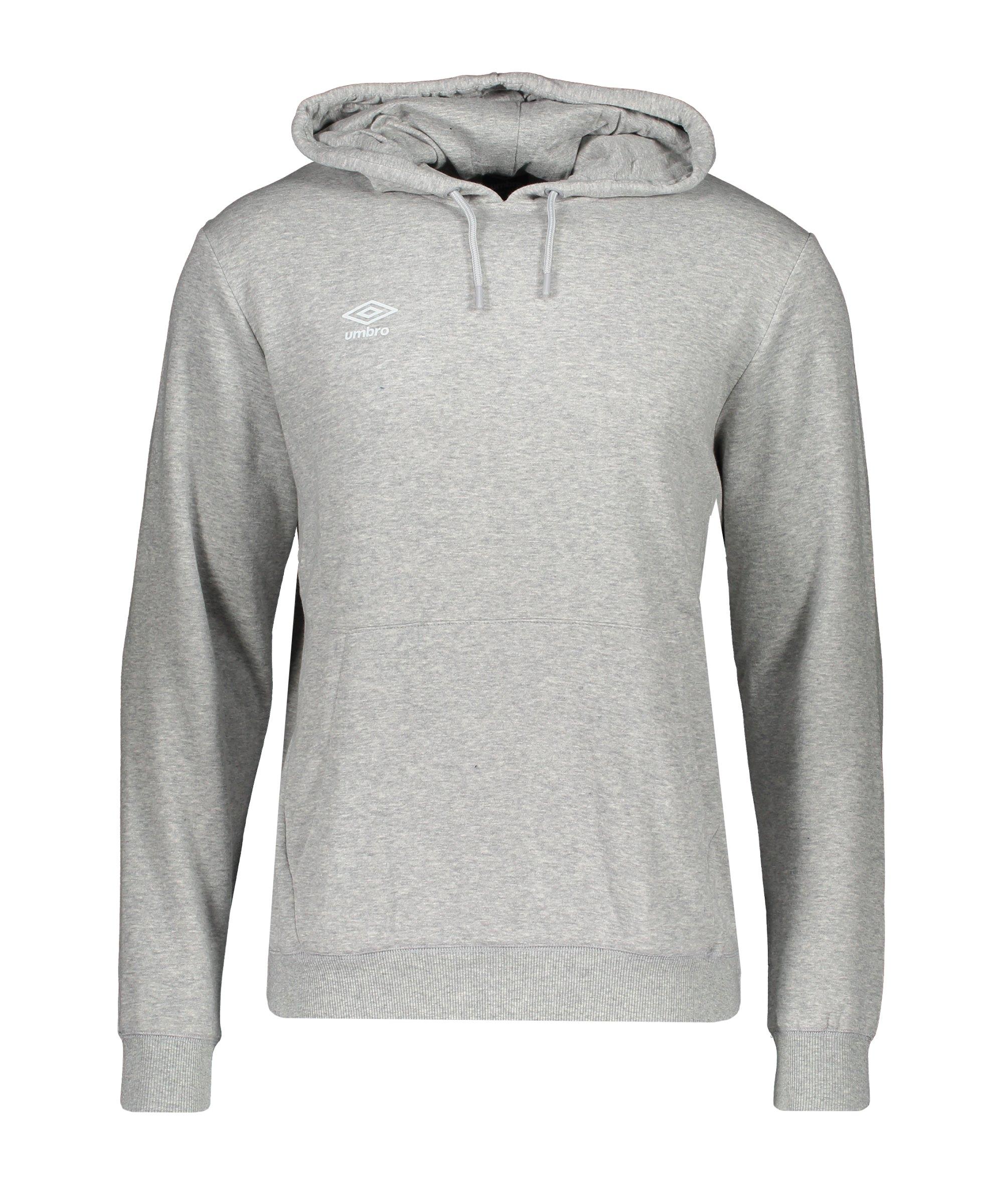 Umbro Club Leisure OH Kapuzensweatshirt Grau FP12 - grau