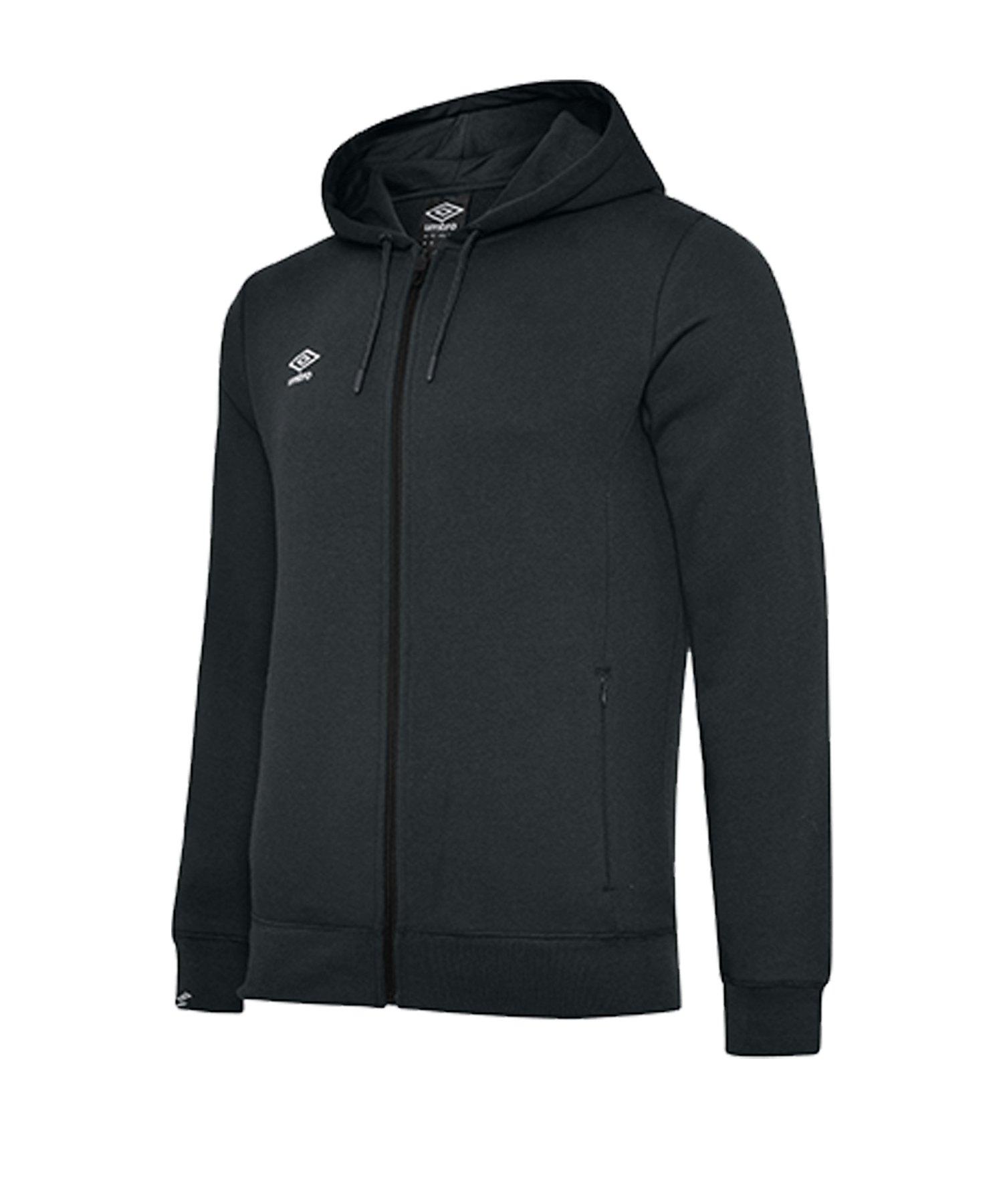 Umbro Club Leisure ZT Kapuzensweatshirt F090 - schwarz