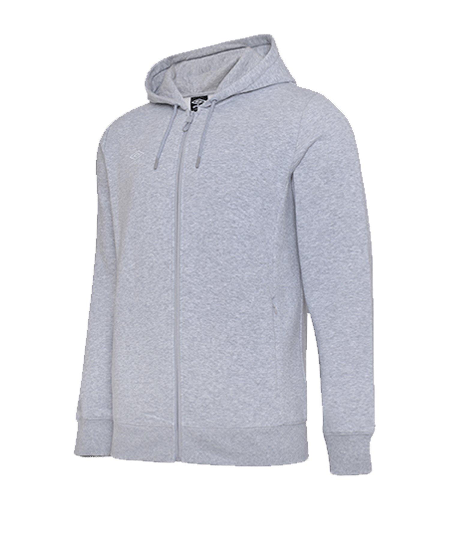 Umbro Club Leisure ZT Kapuzensweatshirt FP12 - grau