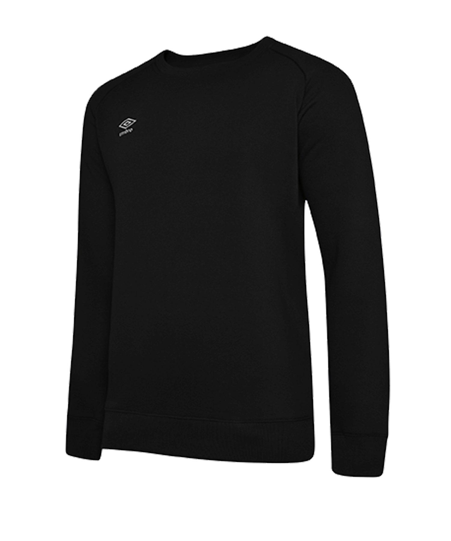 Umbro Club Leisure Sweatshirt Schwarz F090 - schwarz