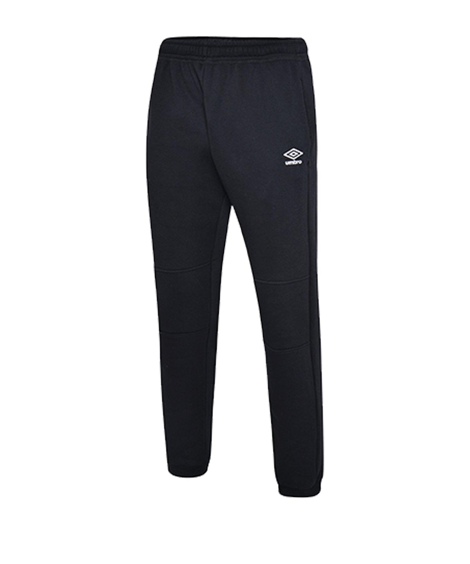 Umbro Club Leisure Jogginghose Schwarz F090 - schwarz