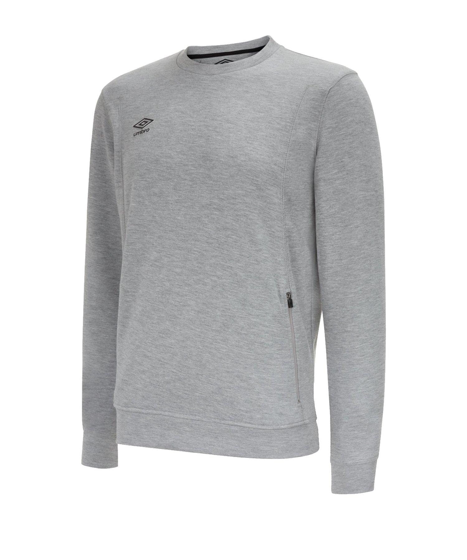 Umbro Pro Fleece Sweatshirt Grau FB43 - Grau