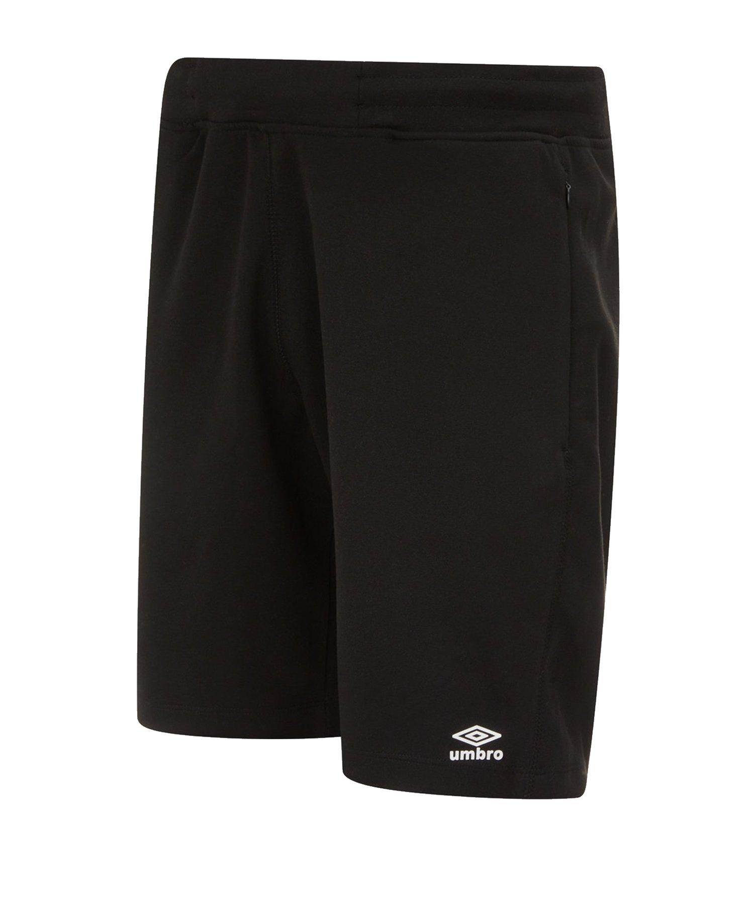 Umbro Pro Fleece Short Schwarz F090 - Schwarz