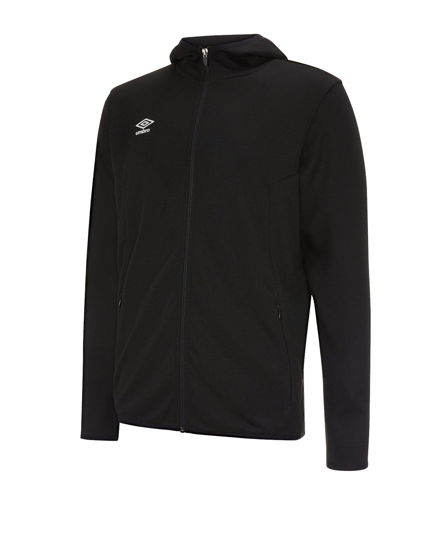 Umbro Pro Fleece Hoody Kapuzenjacke F090 - Schwarz