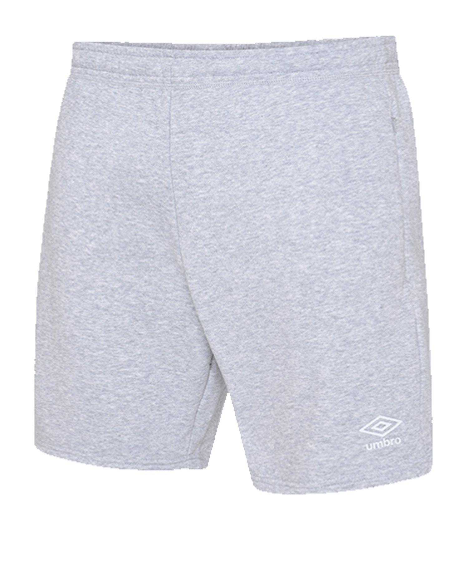 Umbro Club Leisure Jog Short Grau FP12 - grau