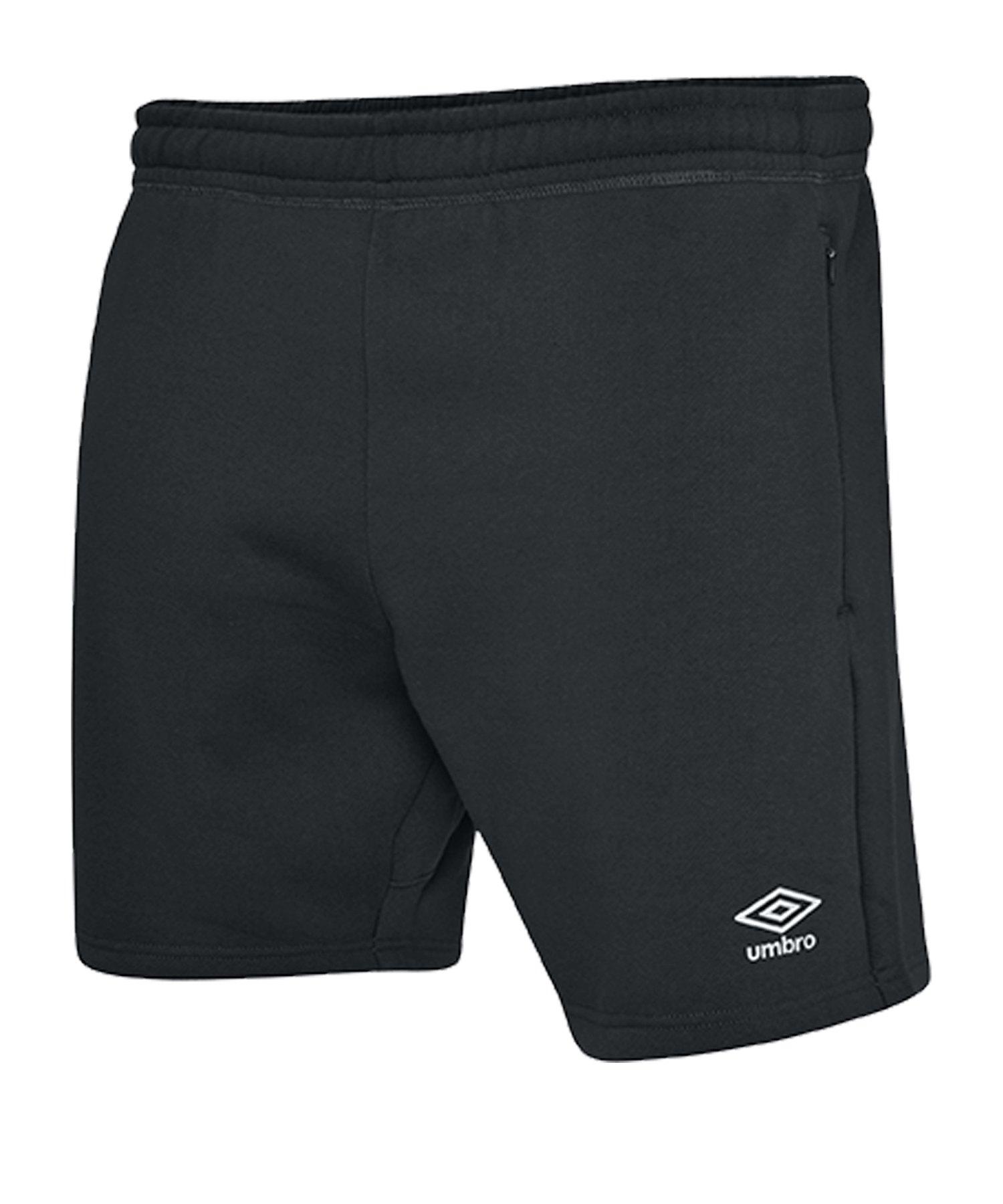 Umbro Club Leisure Jog Short Schwarz F090 - schwarz