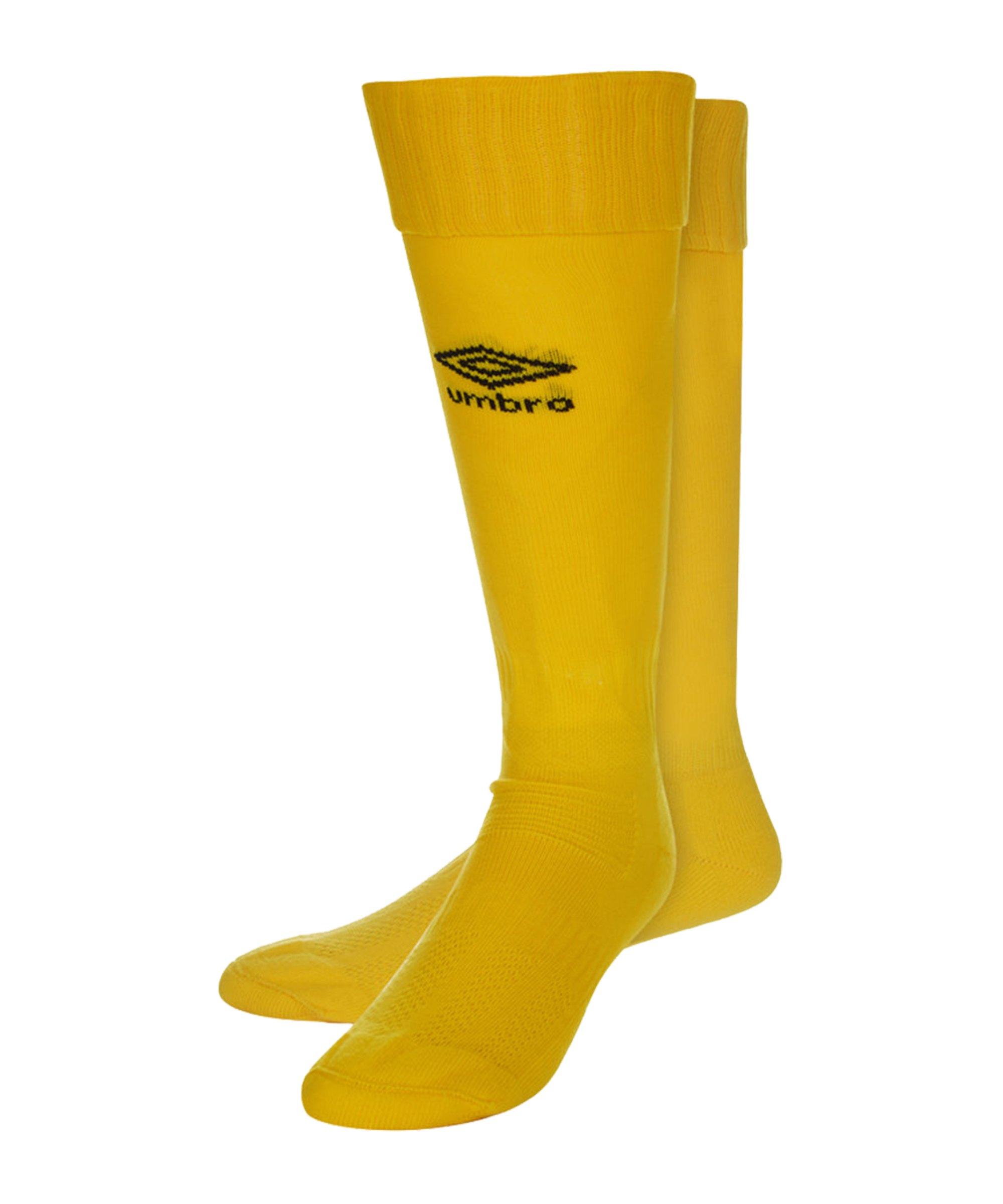 Umbro Primo Strumpfstutzen Kinder Gelb F0LF - gelb