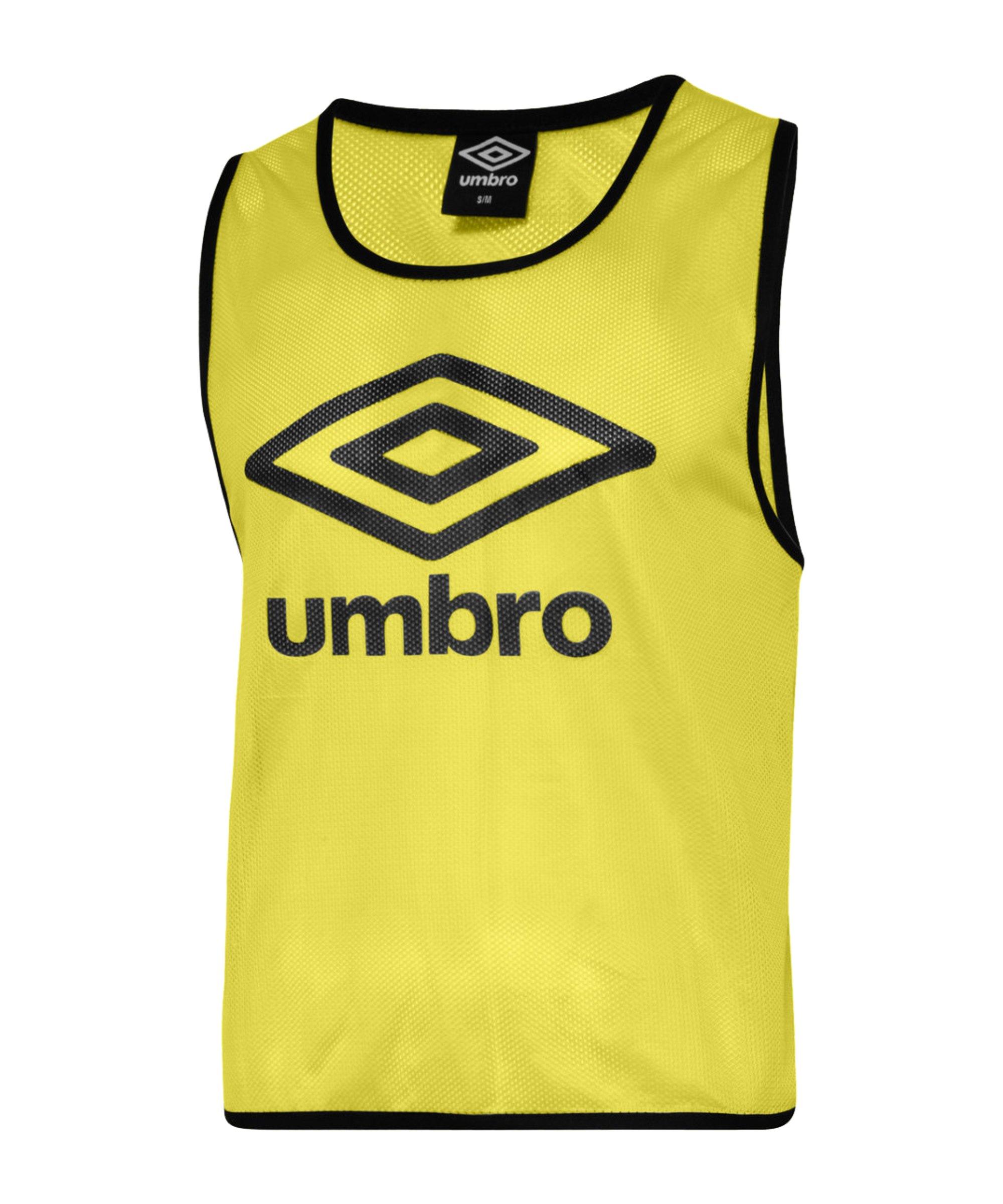 Umbro Training Bib Kennzeichnungshemd Kinder Gelb F157 - gelb