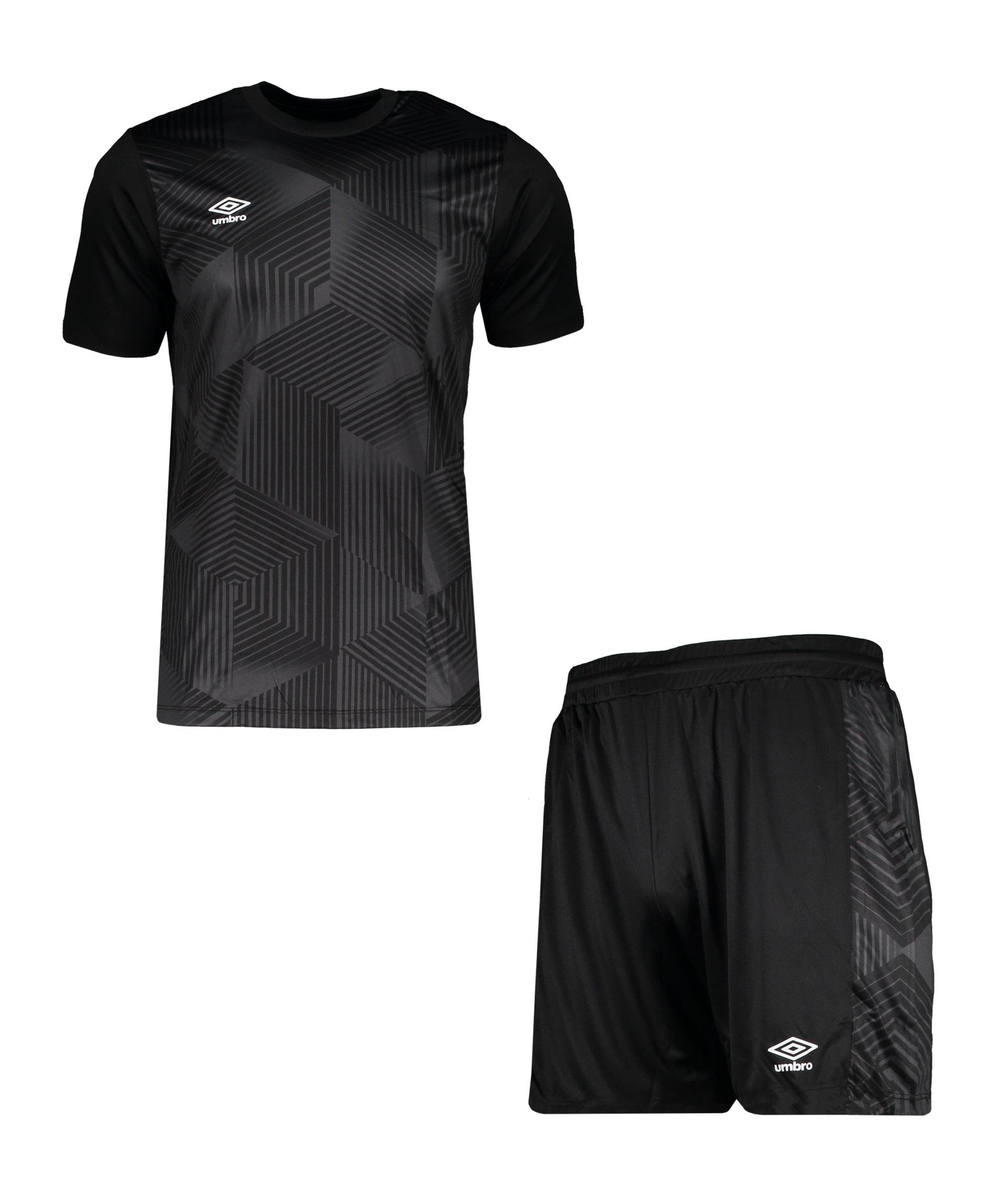 Umbro Maxium Kit Set Schwarz F060 - schwarz