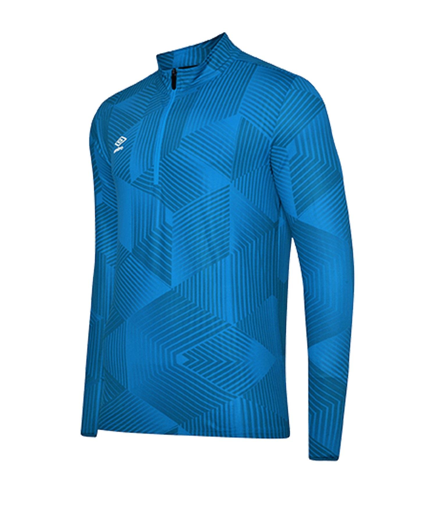 Umbro Maxium 1/4 Zip Training Sweatshirt F6AM - blau