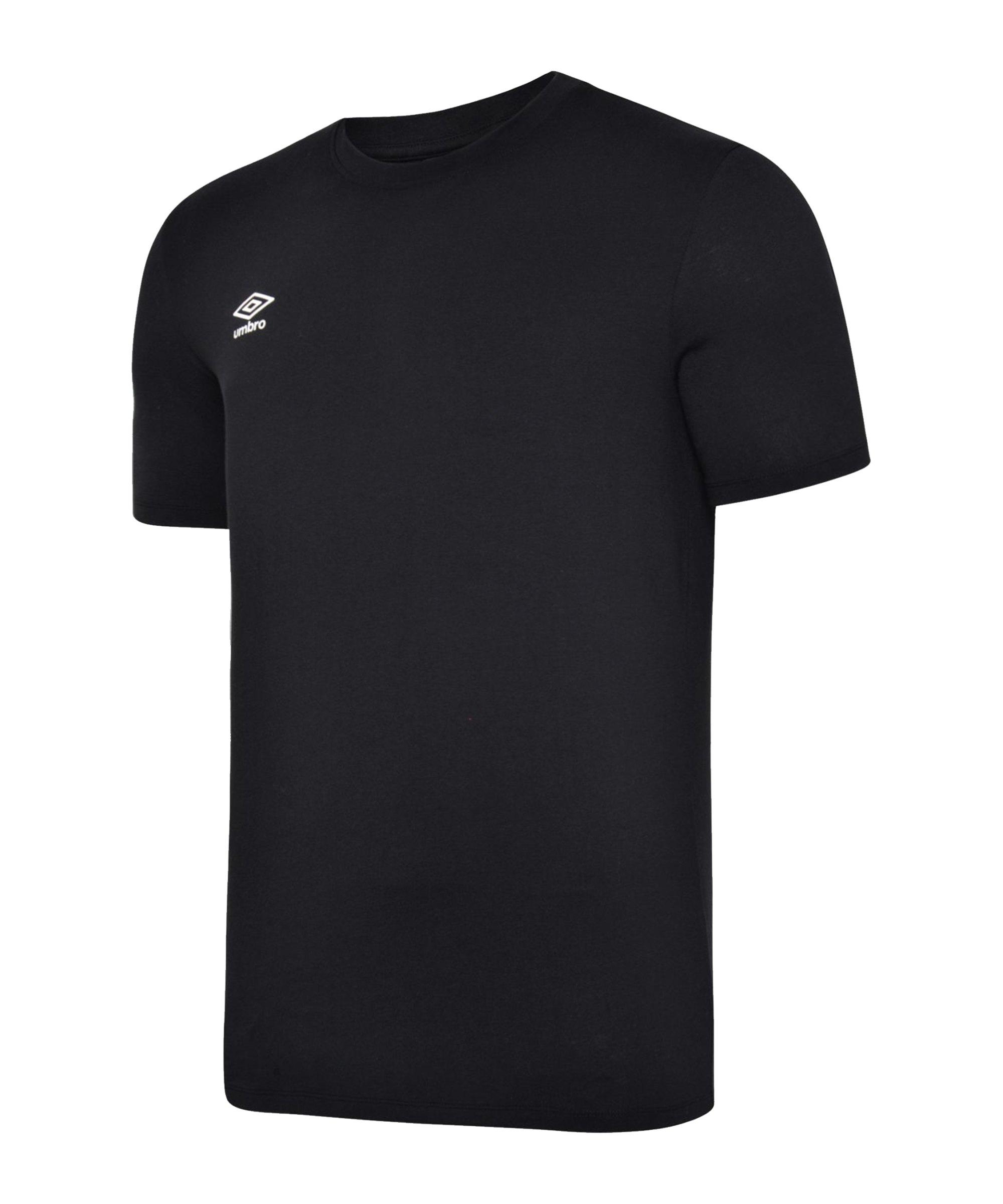 Umbro Club Leisure Crew Tee T-Shirt F090 - schwarz