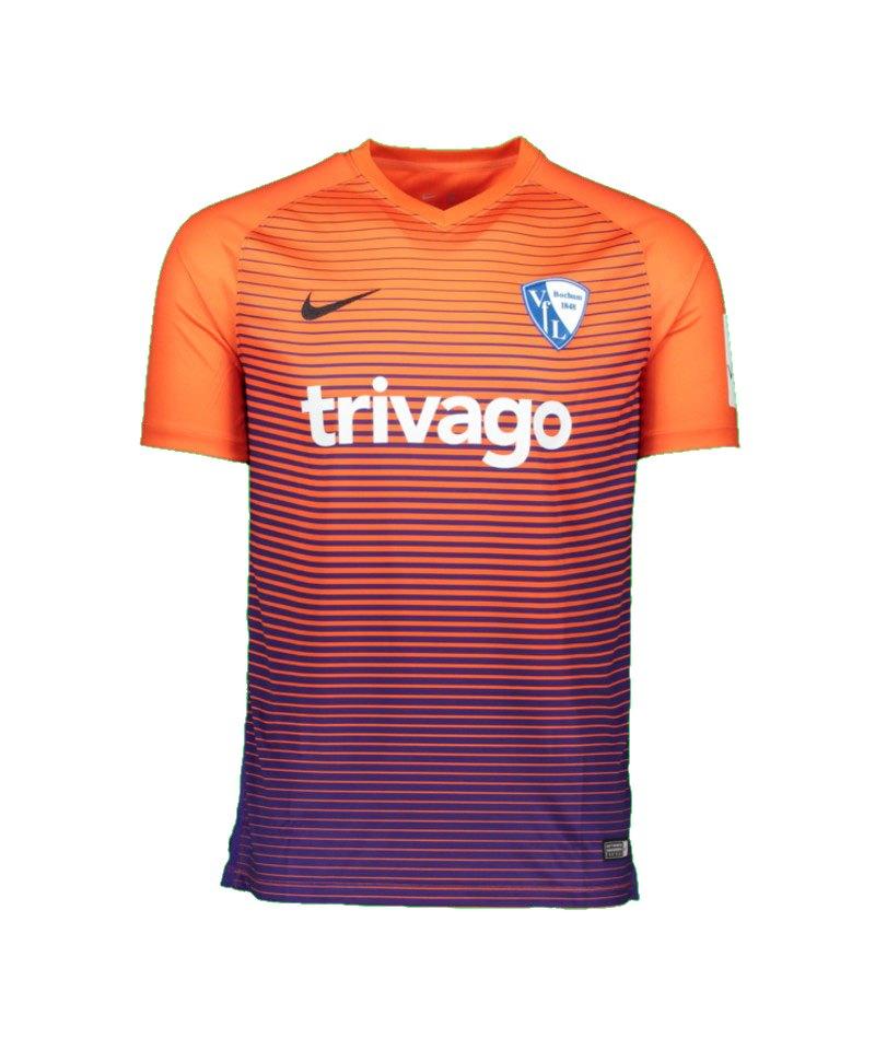 Nike Trikot 3rd Vfl Bochum 2017/2018 Orange F815 - orange