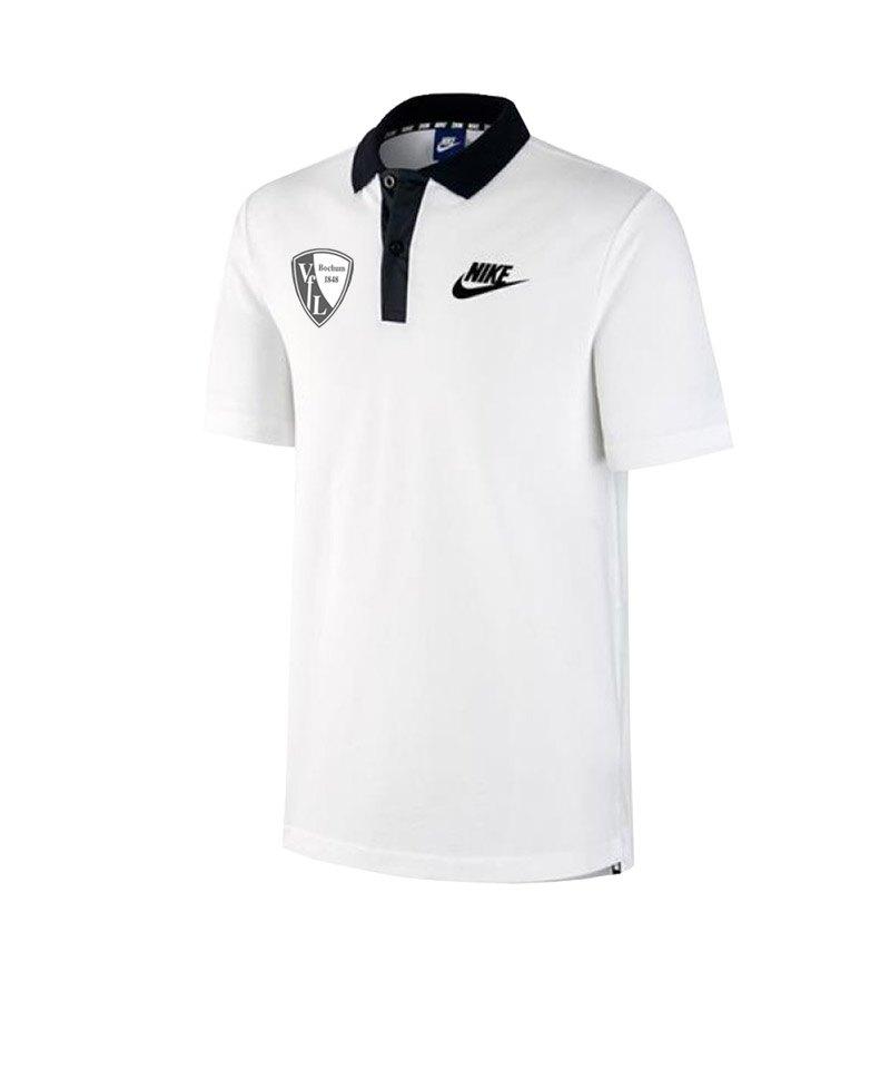 Nike VfL Bochum Poloshirt Weiss F100 - weiss