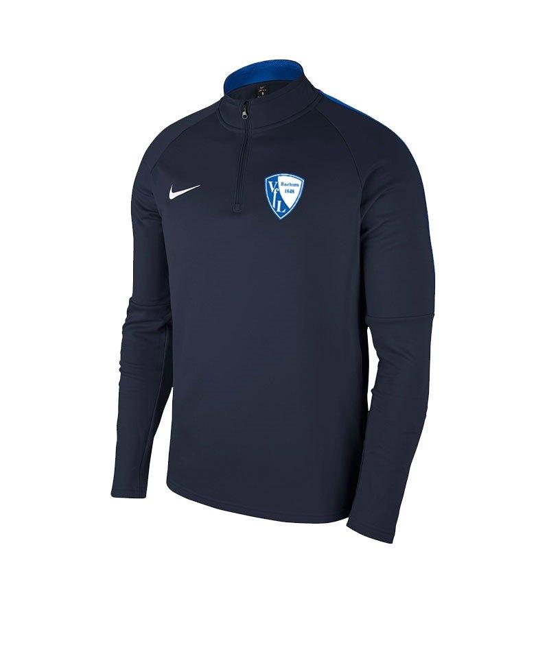 Nike VfL Bochum Zip Top Sweatshirt Kids Blau F451 - blau