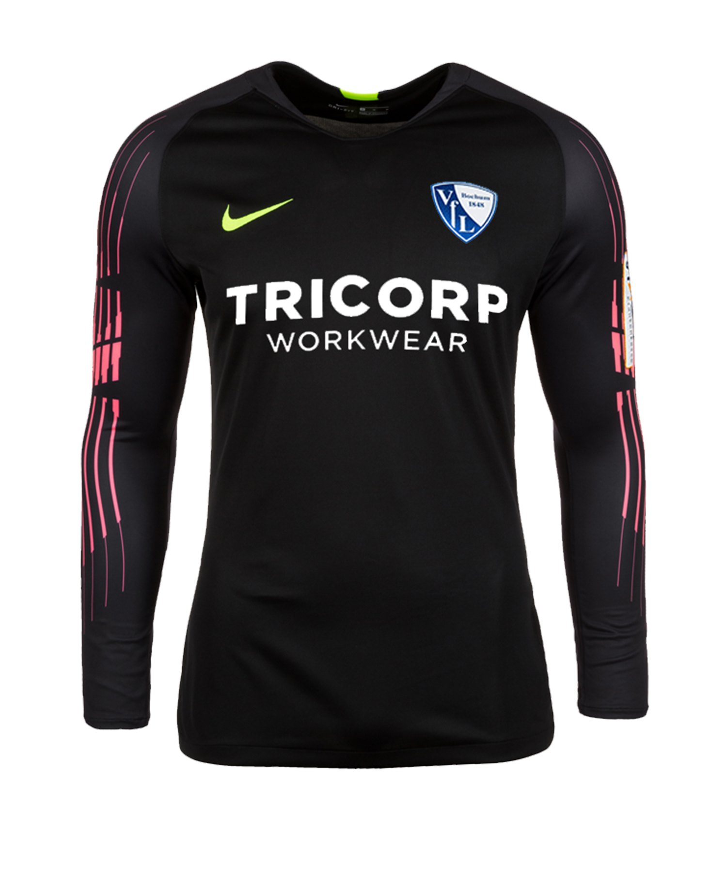 Nike VfL Bochum Torwarttrikot 2019/2020 F010 - schwarz