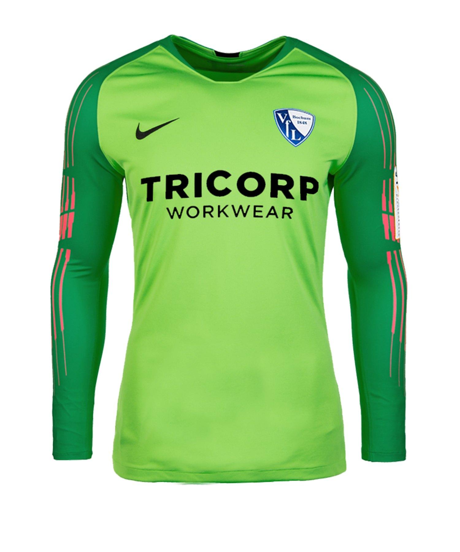 Nike VfL Bochum Torwarttrikot 2019/2020 F398 - gruen