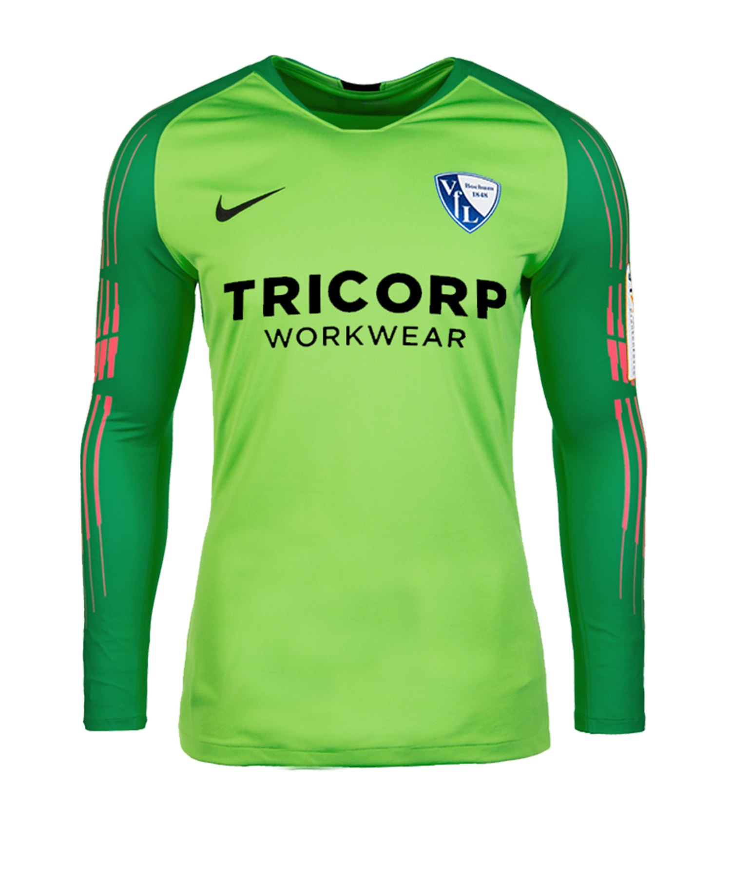 Nike VfL Bochum Torwarttrikot 2019/2020 Kids F398 - gruen