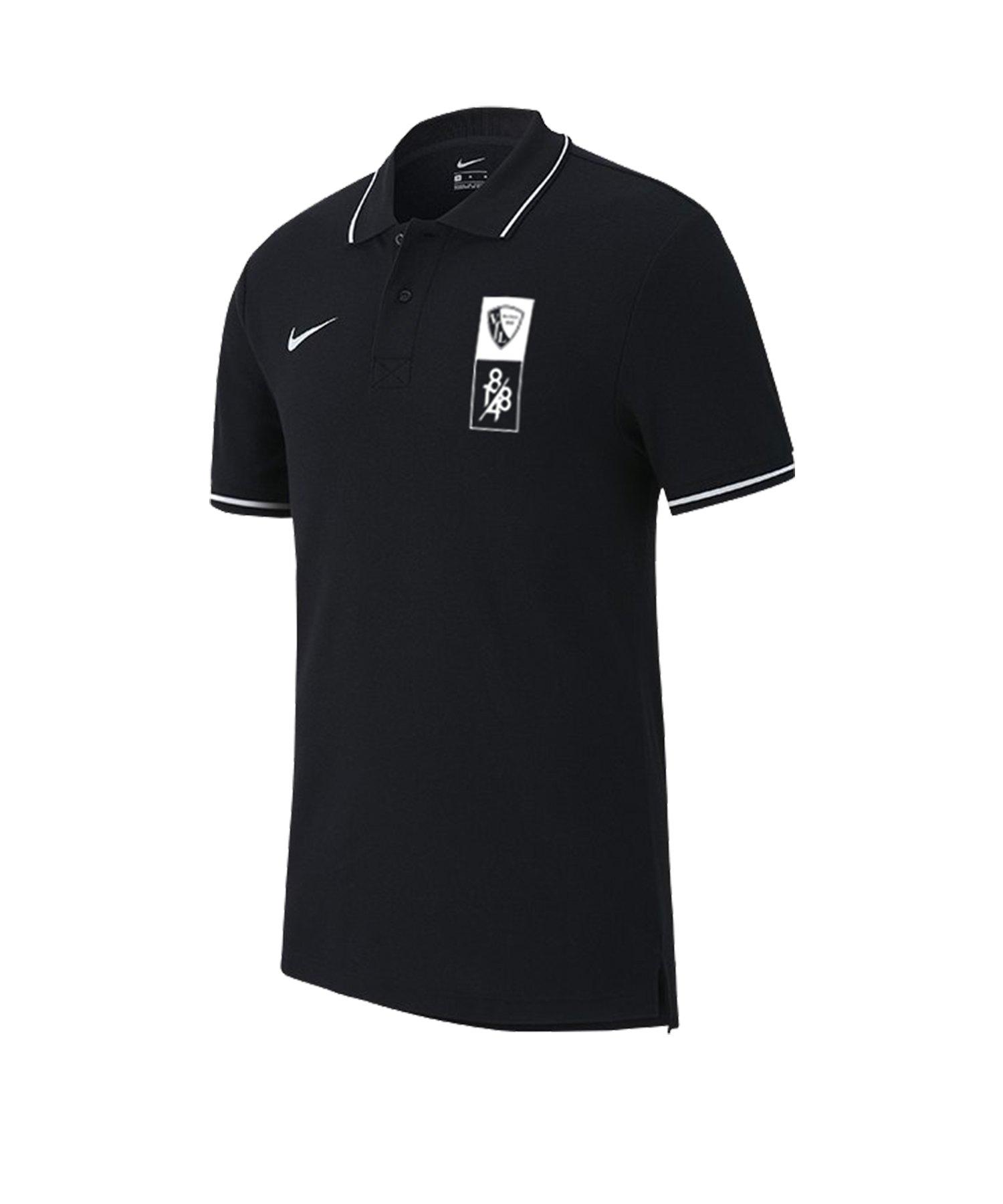 Nike VfL Bochum Poloshirt Kids Schwarz F010 - schwarz