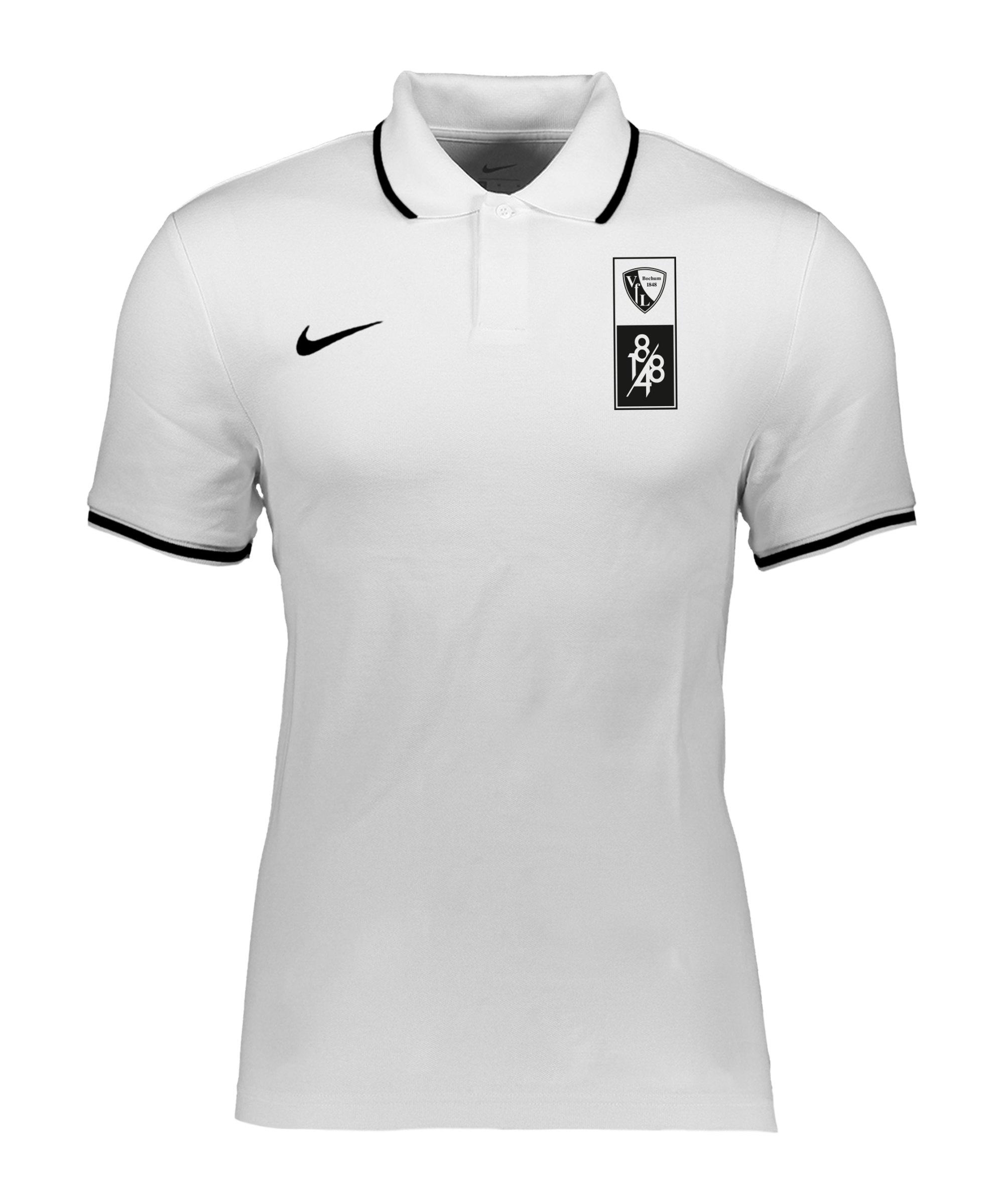 Nike VfL Bochum Poloshirt Kids Weiss F100 - weiss