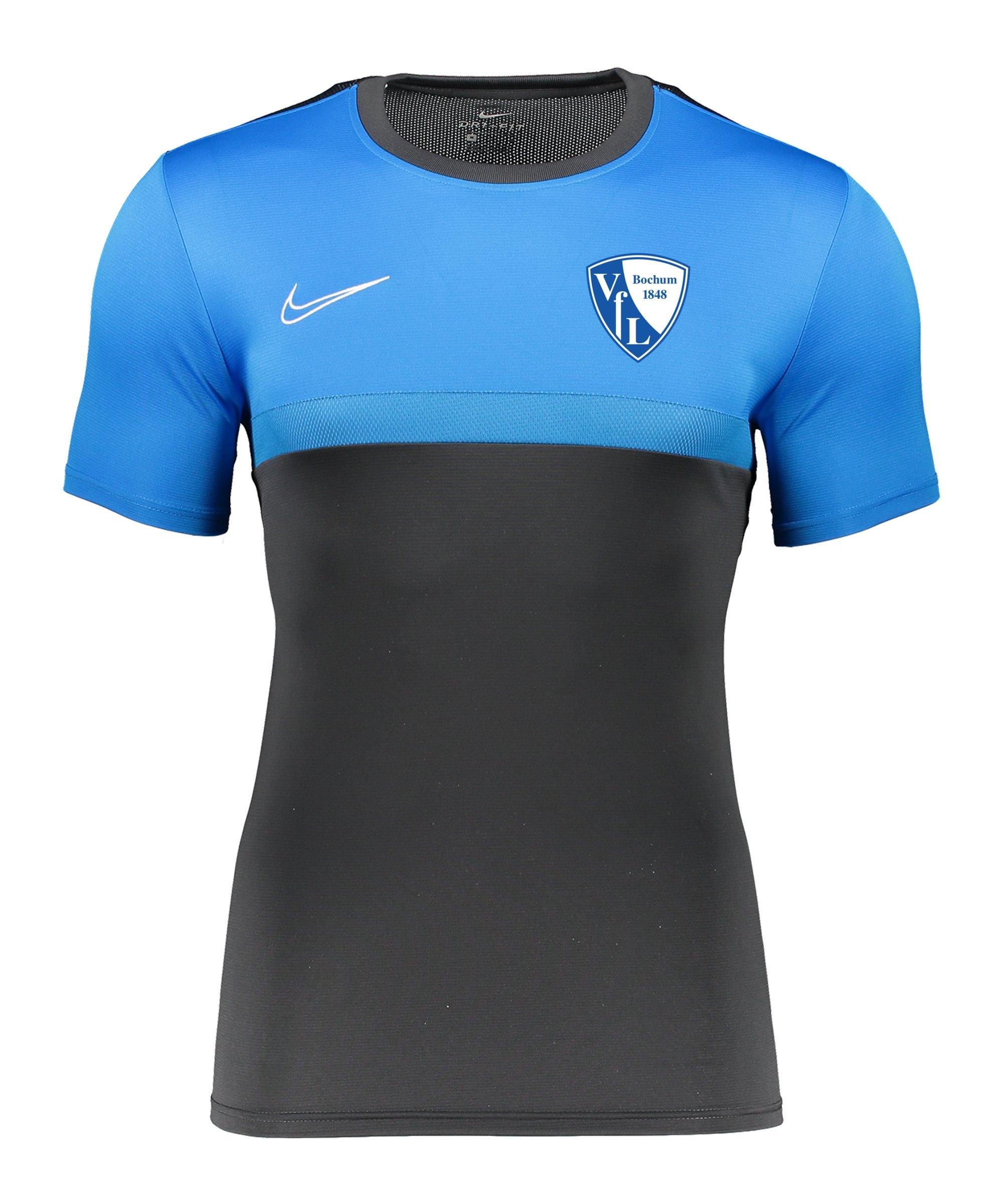 Nike VfL Bochum Trainingsshirt kurzarm Grau F075 - grau