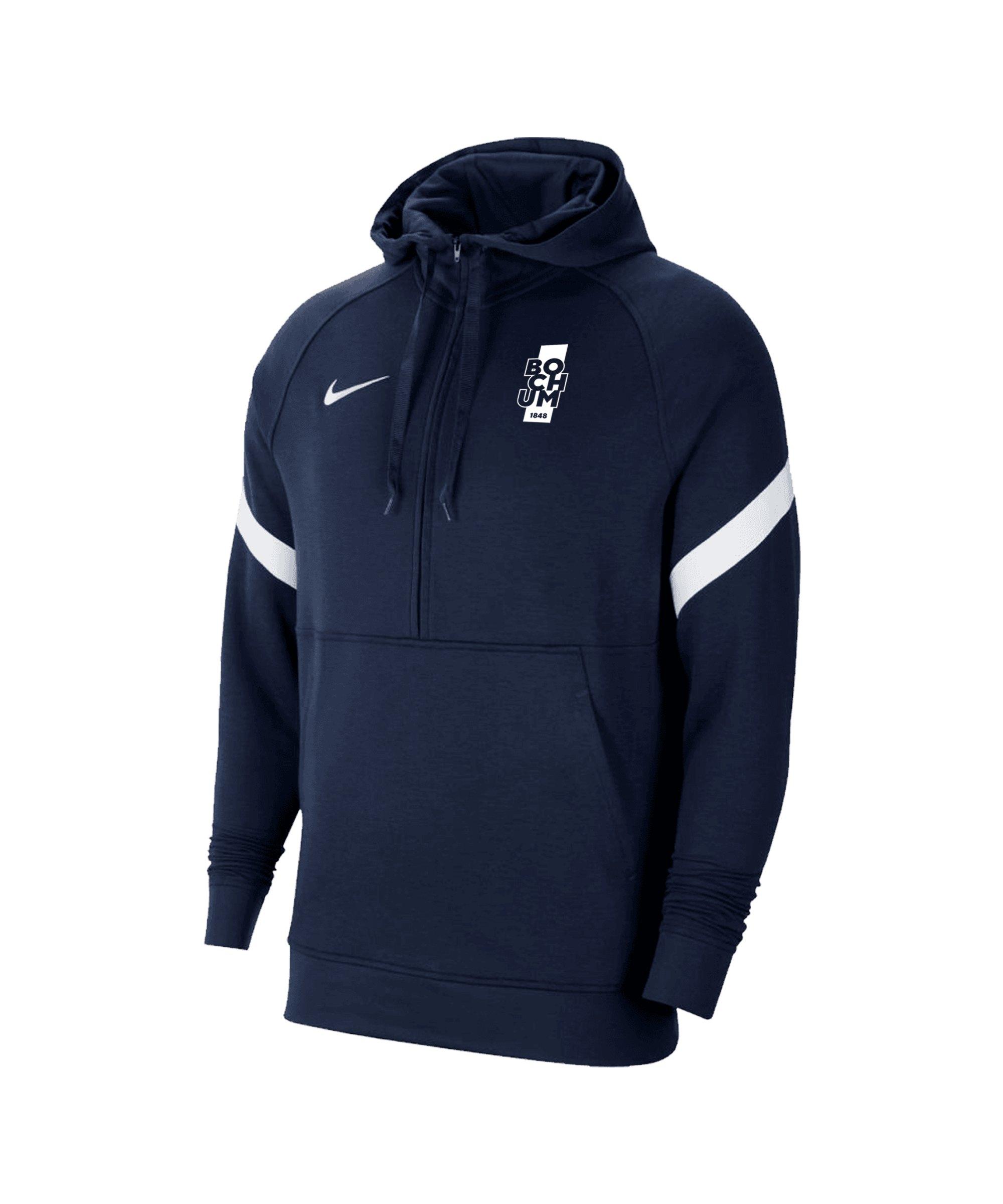 Nike VfL Bochum Lifestyle HalfZip Sweatshirt Blau F451 - blau