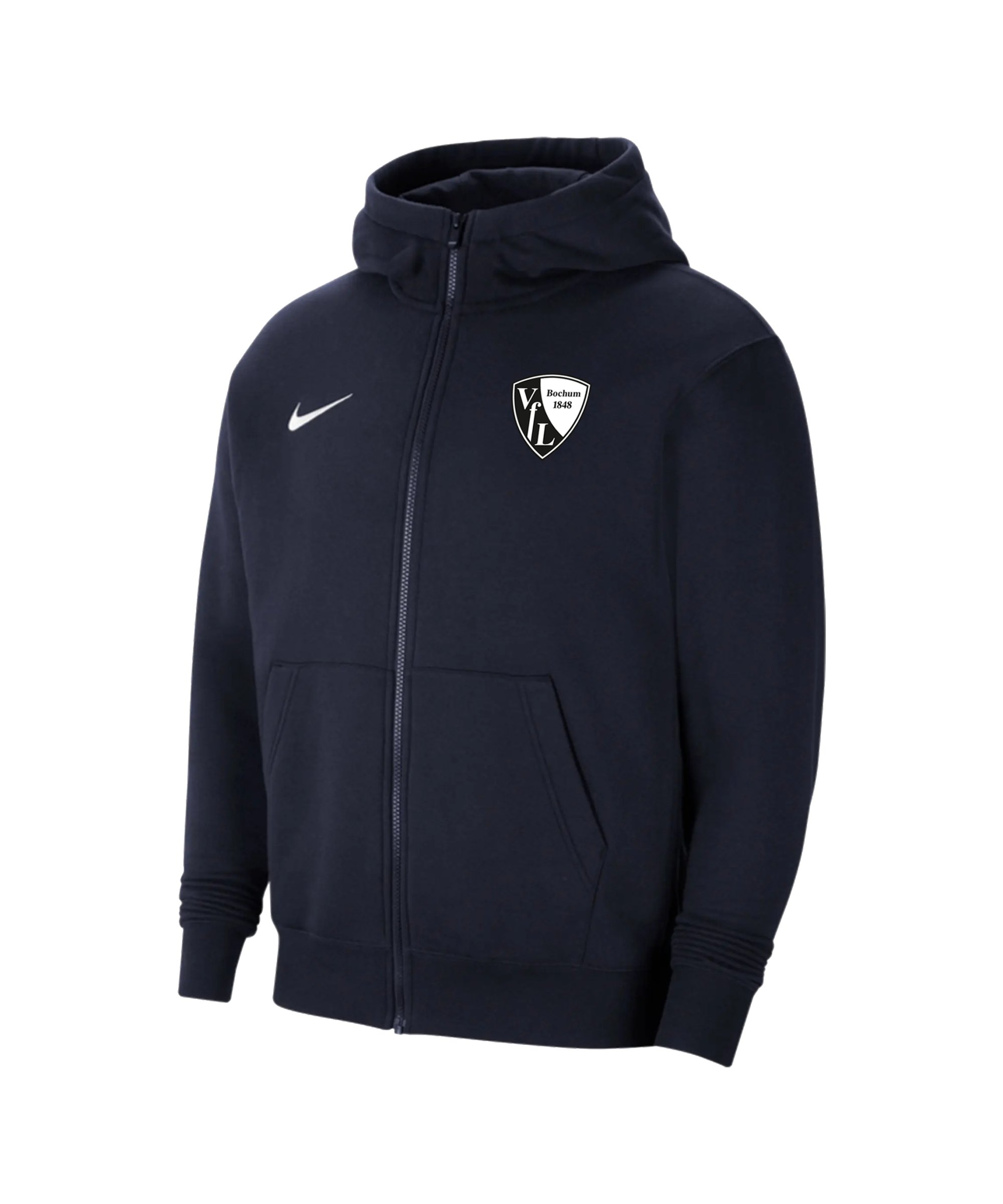 Nike VfL Bochum Kapuzenjacke Blau F451 - blau