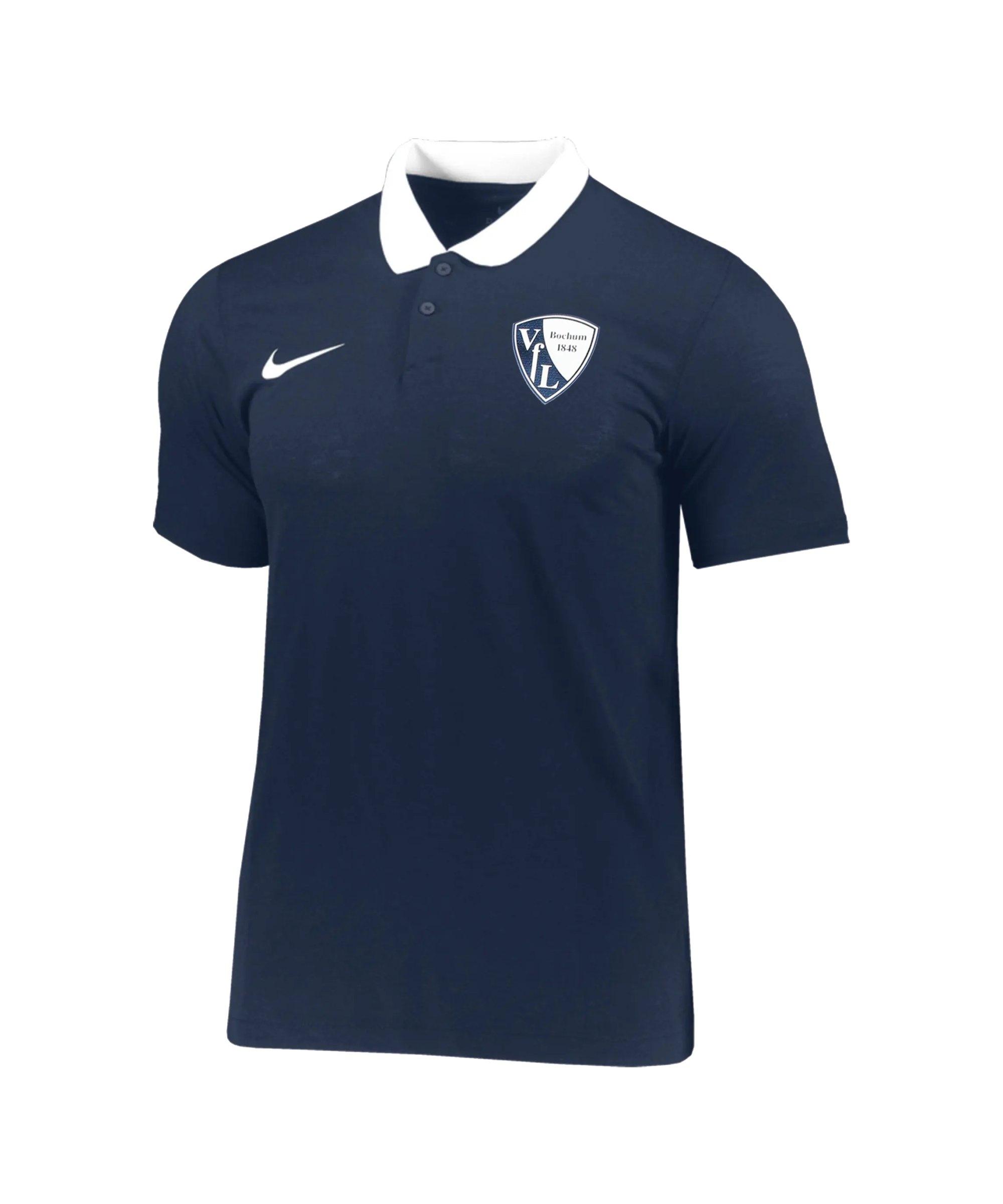 Nike VfL Bochum Polo Damen Blau F451 - blau