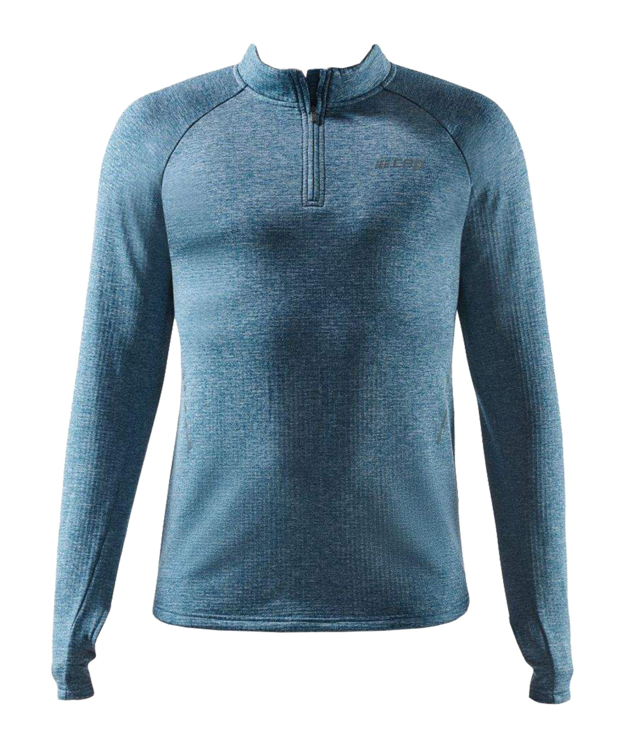 CEP T-Shirt langarm Running Blau - blau