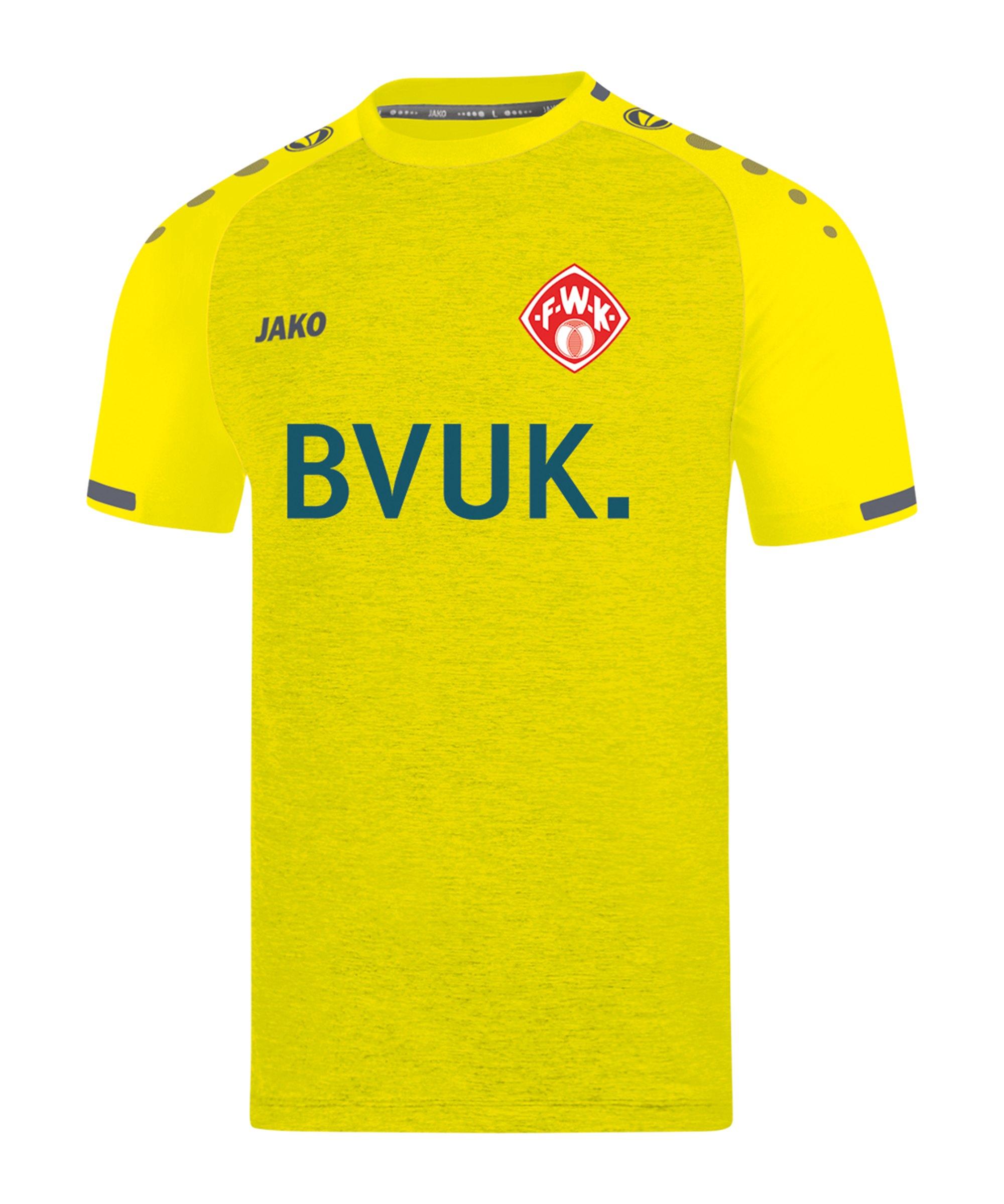 JAKO Würzburger Kickers Trikot 3rd 2020/2021 Gelb F33 - gelb