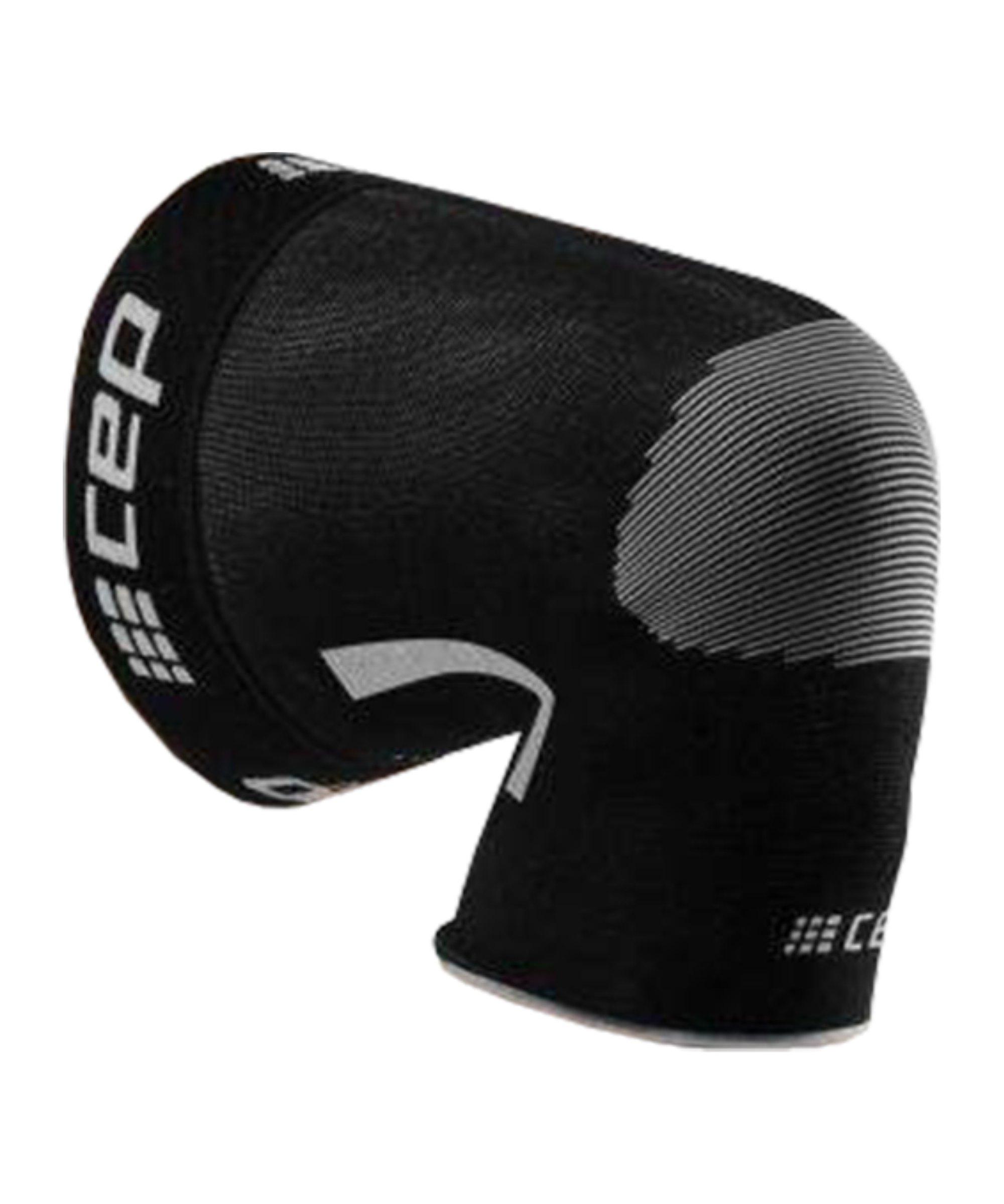 CEP Ortho Knee Sleeve Running Schwarz - schwarz