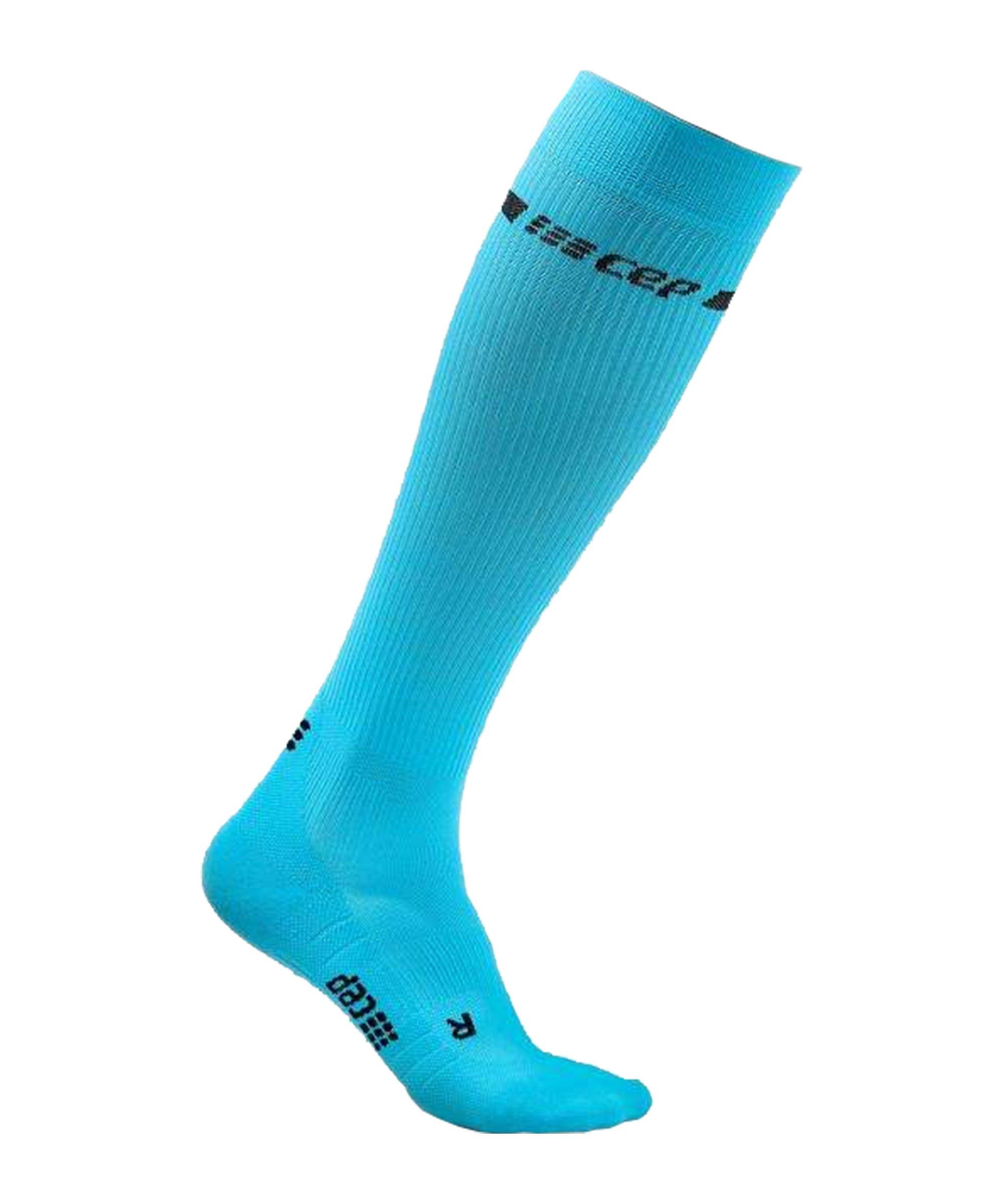 CEP Neon Socken Running Damen Blau - blau