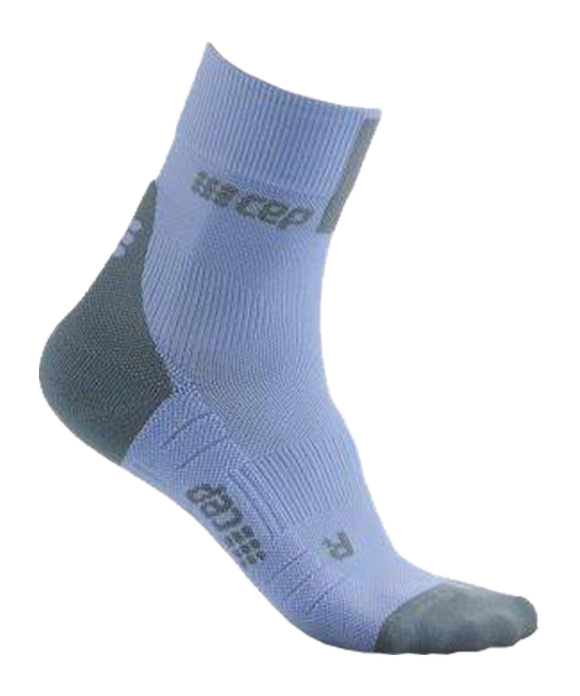 CEP Comp. 3.0 Short Socken Running Damen Blau - blau