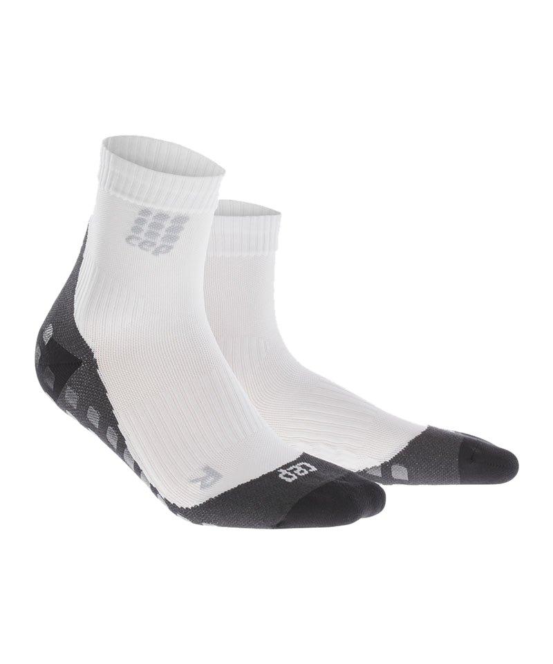 CEP Griptech Short Socks Weiss - weiss