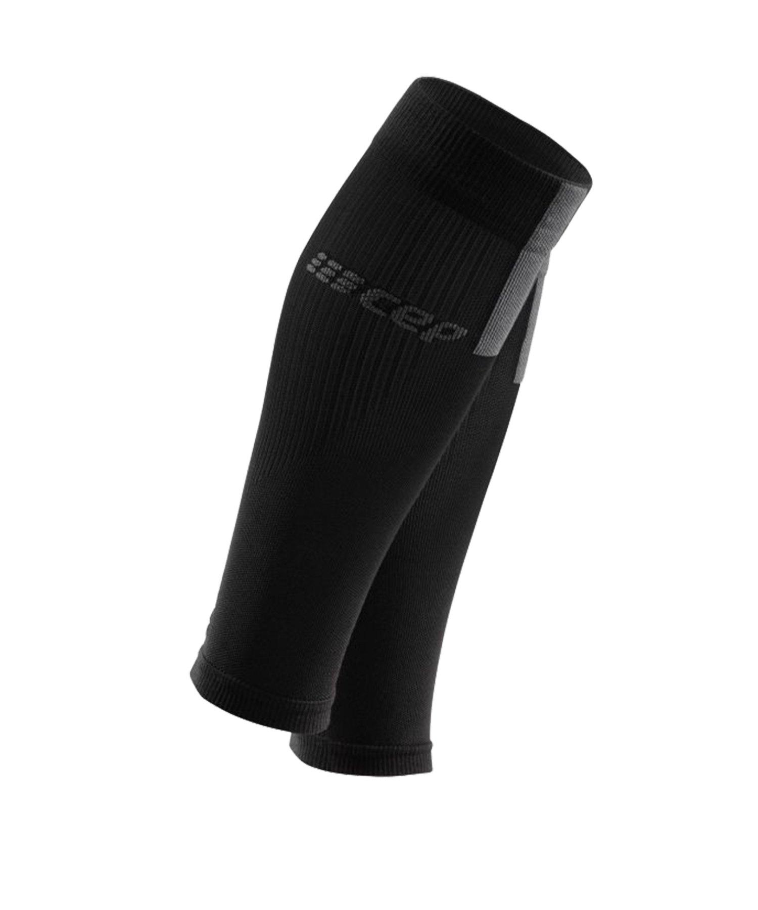 CEP Calf Sleeves 3.0 Running Schwarz Grau - schwarz