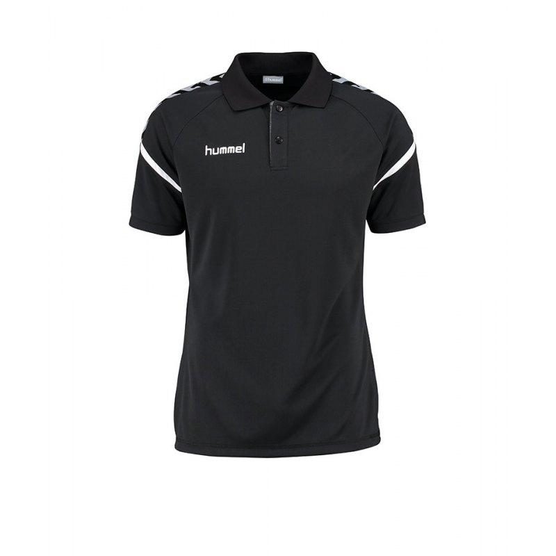 Hummel Poloshirt Charge Functional Schwarz F2001 - schwarz