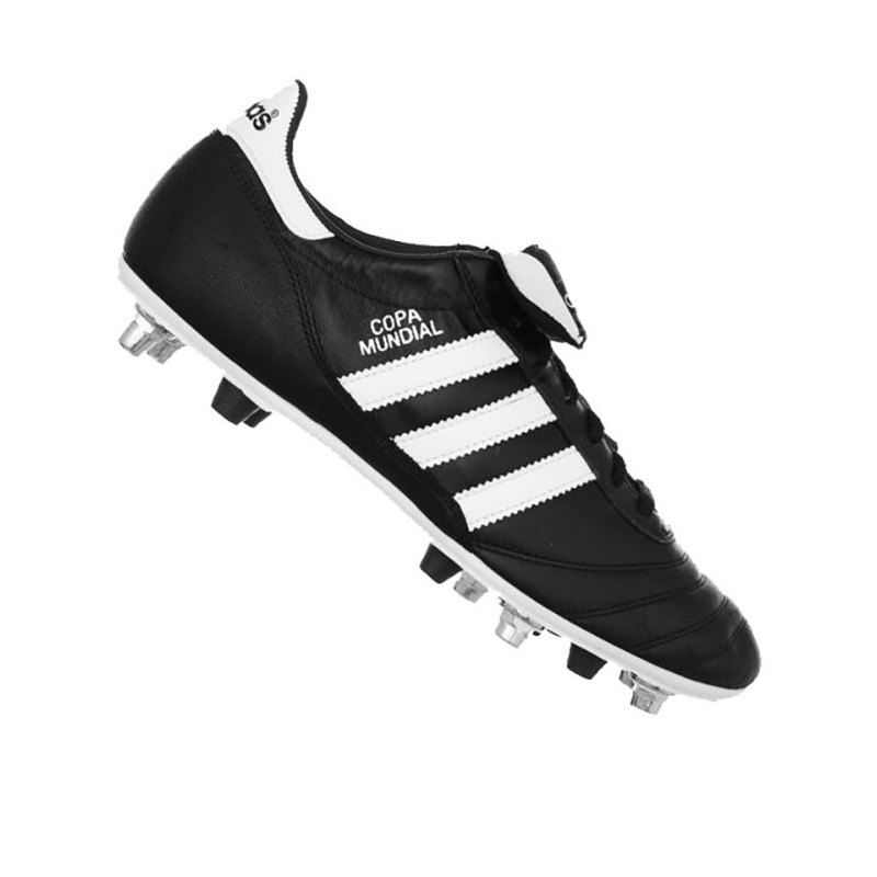 adidas Mixed FG + SG Copa Mundial Schwarz Weiss - schwarz