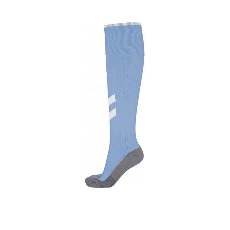 Hummel Fundamental Stutzenstrumpf Blau F7473 - blau