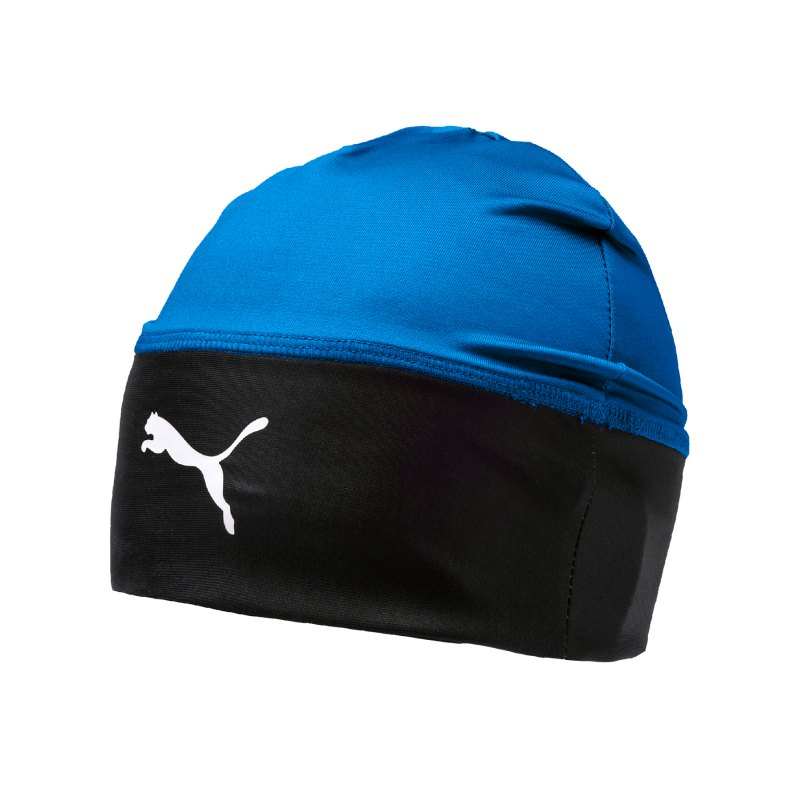 PUMA LIGA Beanie Mütze Blau Schwarz F02 - blau