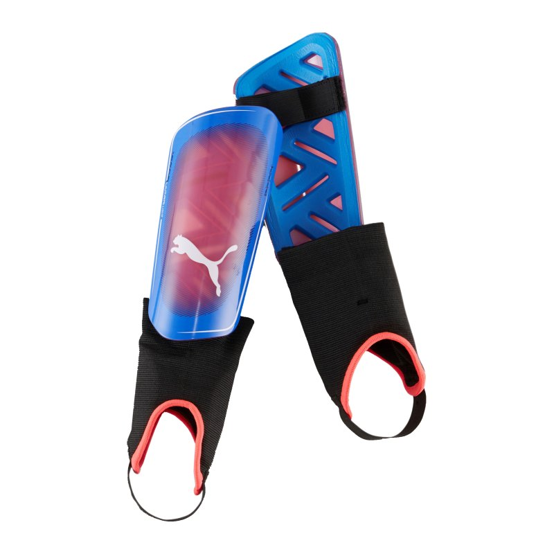 PUMA ULTRA Light Faster Football Schienbeinschoner Blau Pink F05 - blau